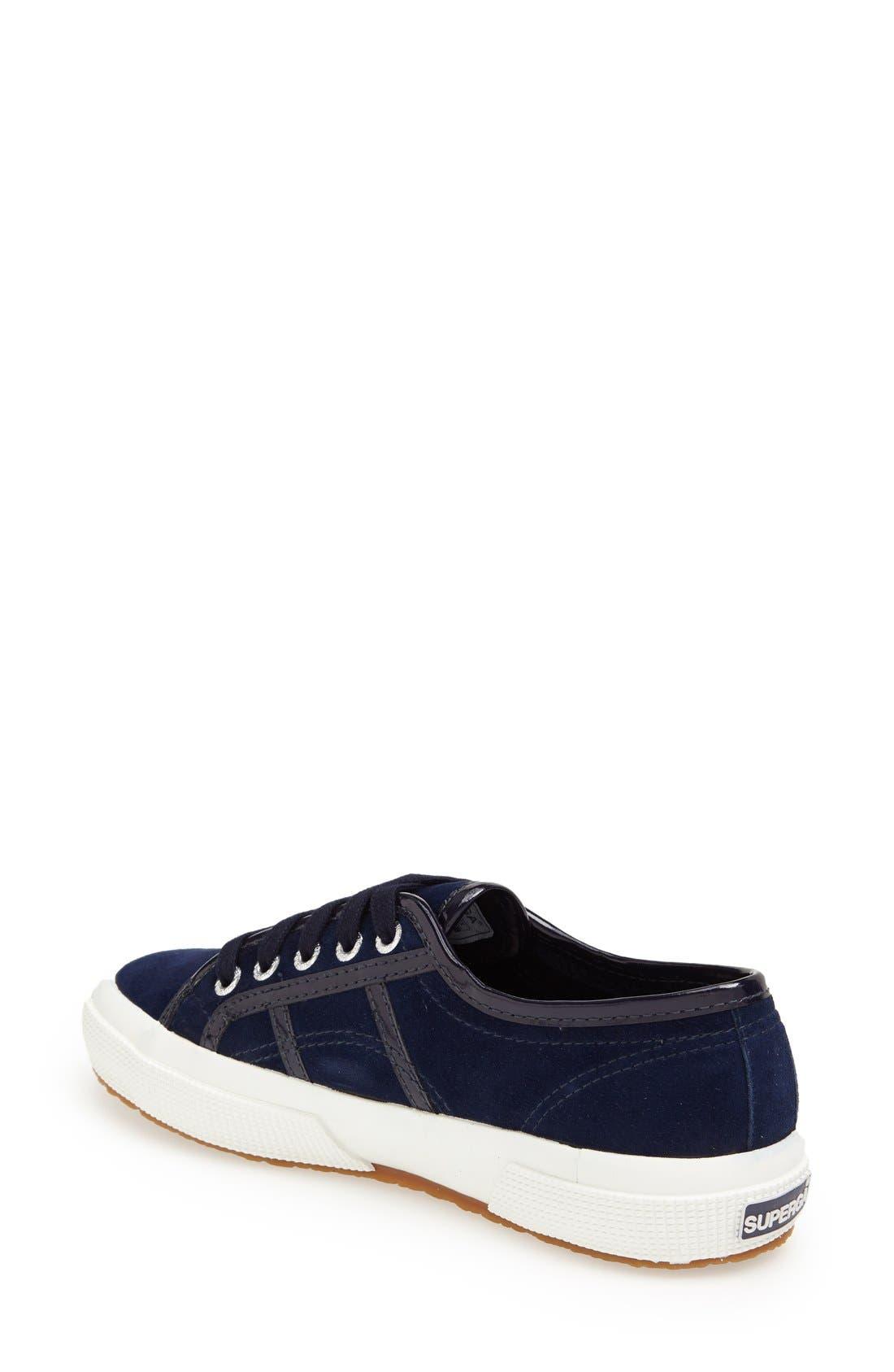 Alternate Image 2  - Superga Suede Slip-On Sneaker (Women)