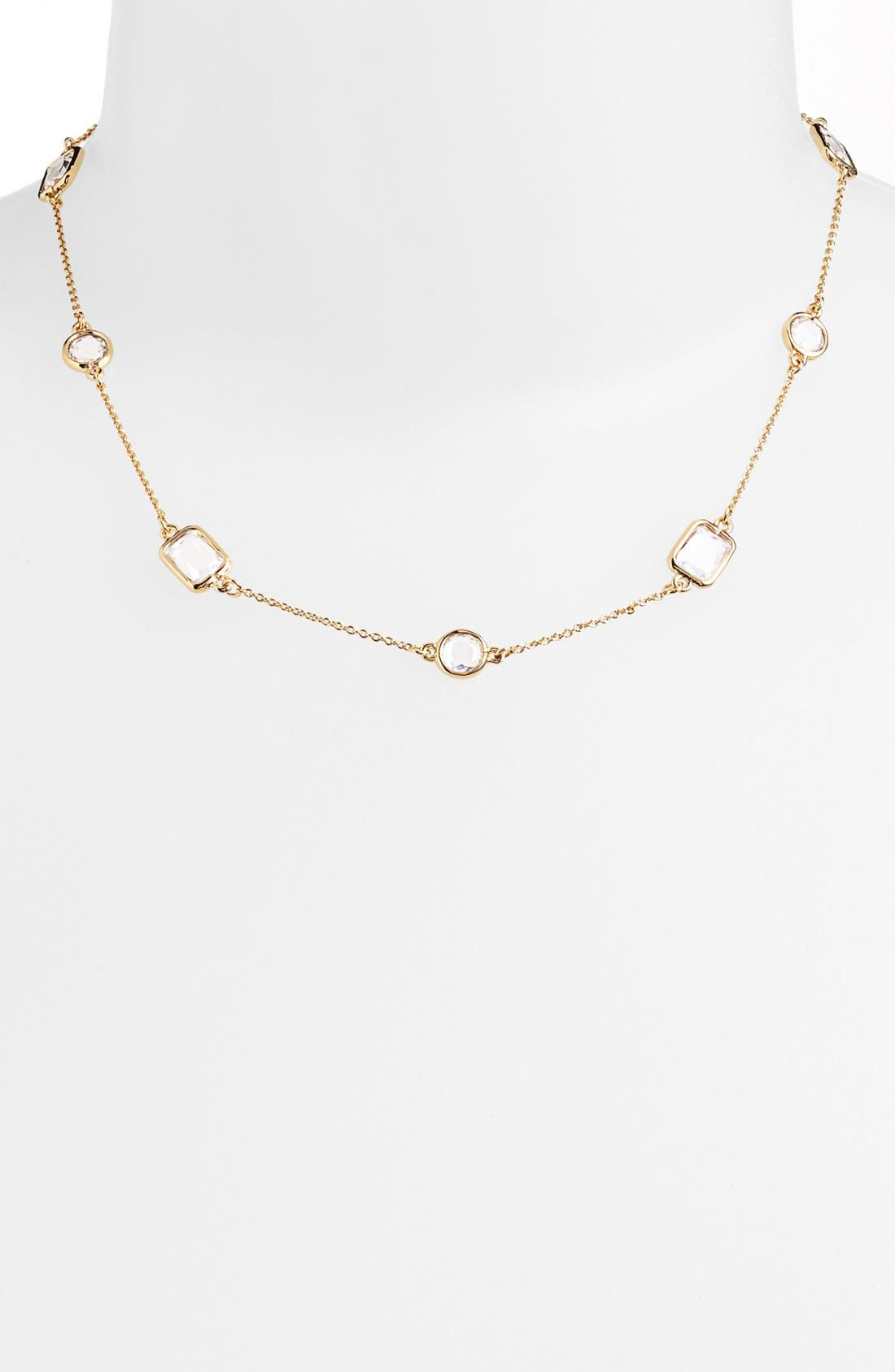Alternate Image 2  - kate spade new york 'opening night' station collar necklace