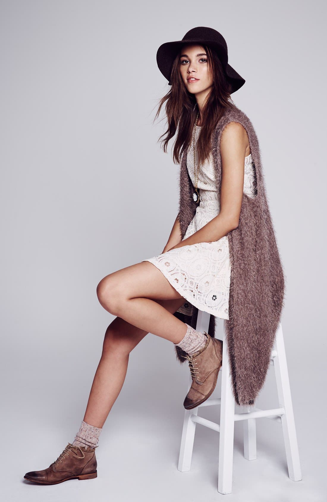 Alternate Image 5  - Free People 'Vaughan' Crochet Boot (Women)