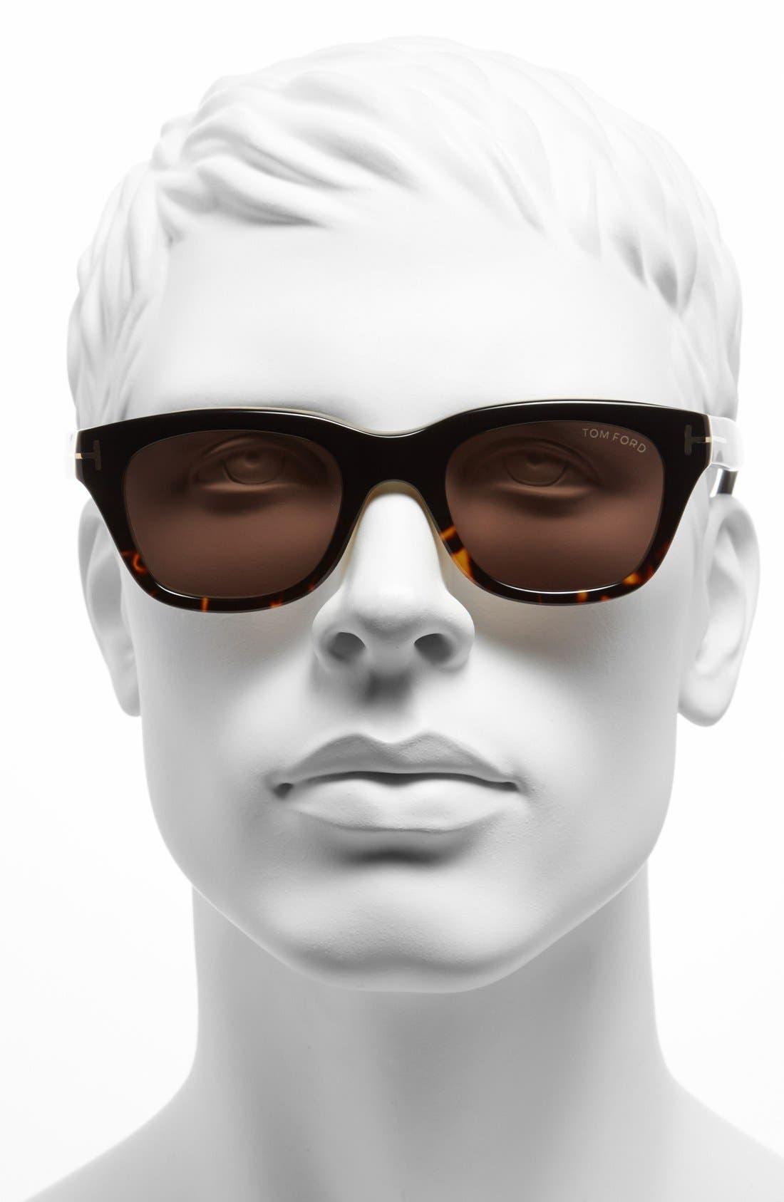 Alternate Image 2  - Tom Ford 'Snowdon' 50mm Sunglasses