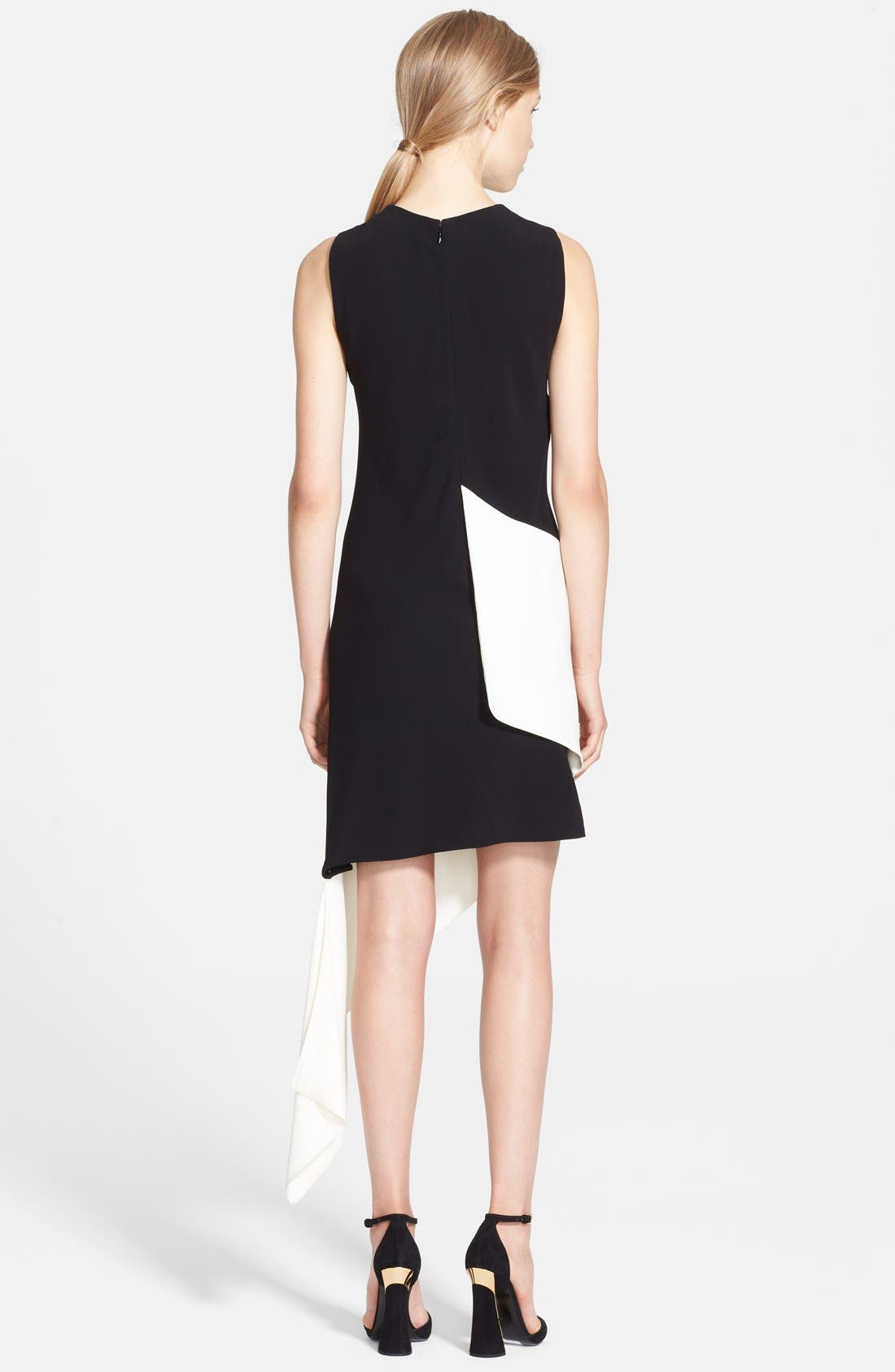 Alternate Image 2  - Marni Bicolor Asymmetrical Satin Back Crepe Dress