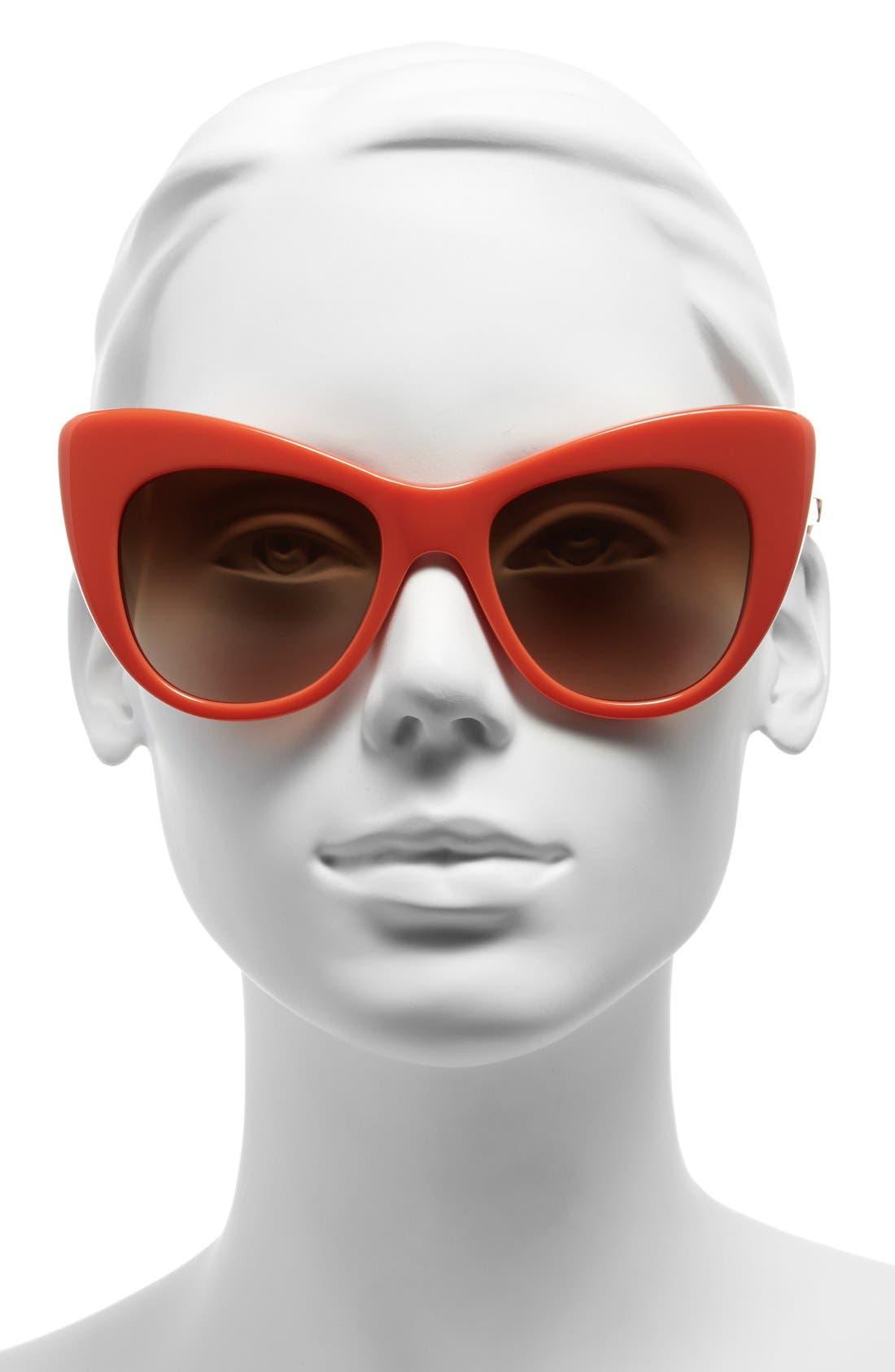 Alternate Image 2  - Stella McCartney 54mm Cat Eye Sunglasses