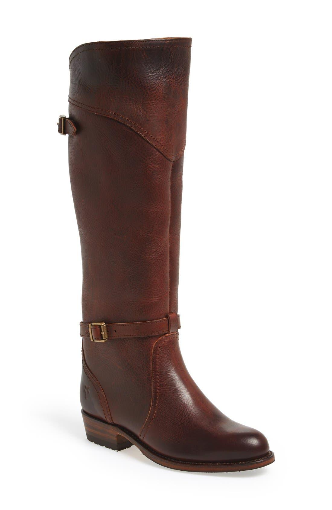 Alternate Image 1 Selected - Frye 'Durado Lug' Riding Boot (Women)