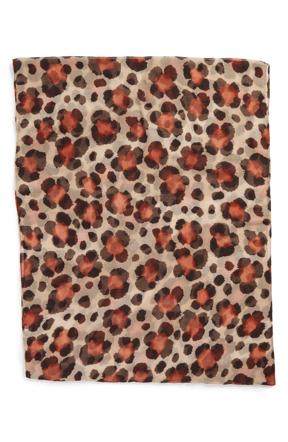 Alternate Image 2  - Tasha 'Floral Cheetah' Infinity Scarf