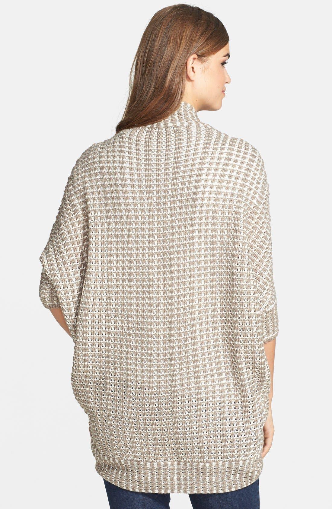 Alternate Image 2  - RD Style Textured Dolman Sleeve Cardigan