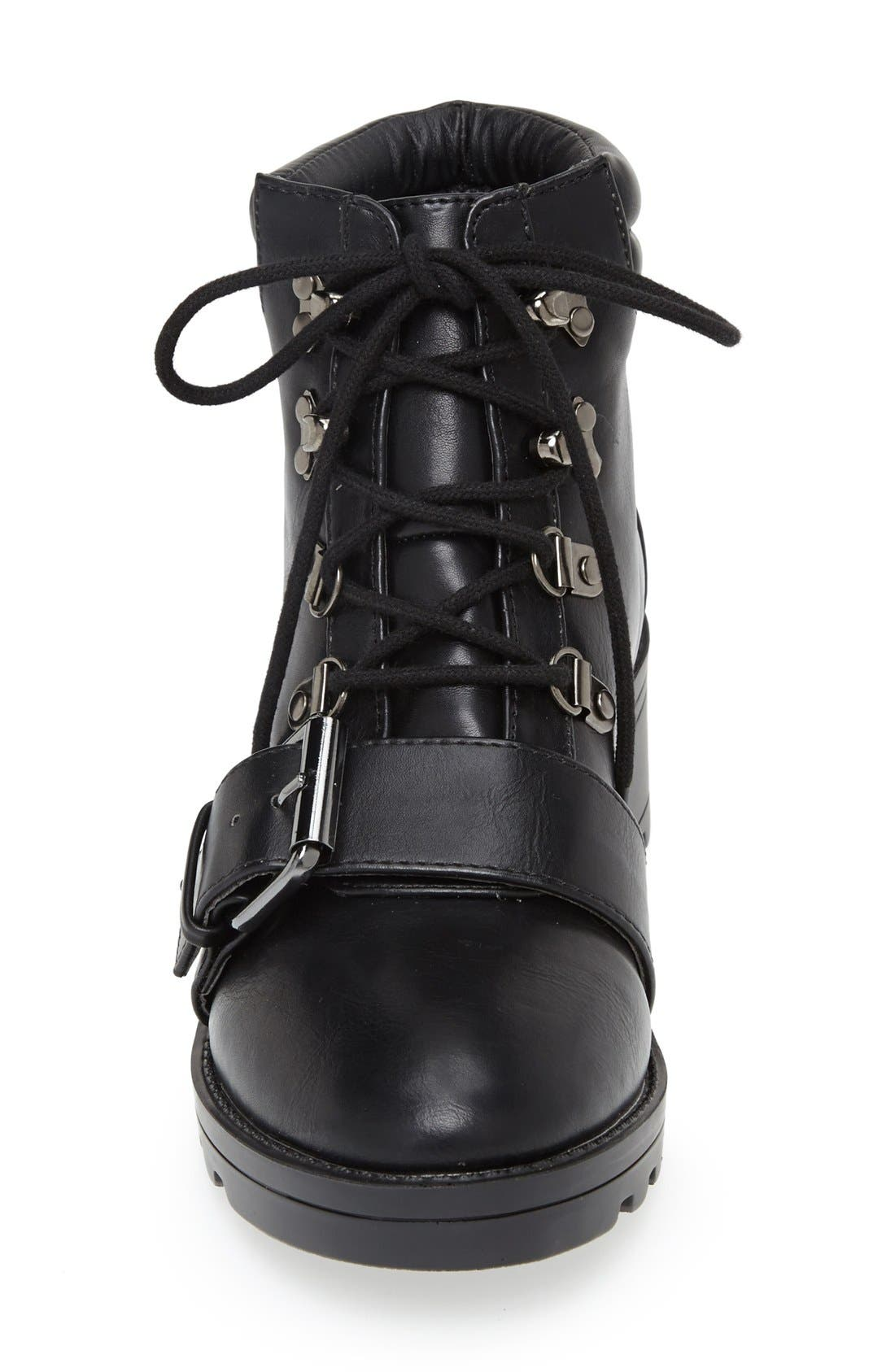Alternate Image 3  - Topshop Bunk Hiker Boot (Women)