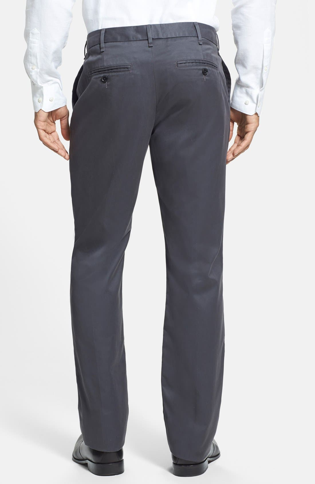 Alternate Image 2  - Bonobos 'Weekday Warriors' Non-Iron Straight Leg Cotton Pants