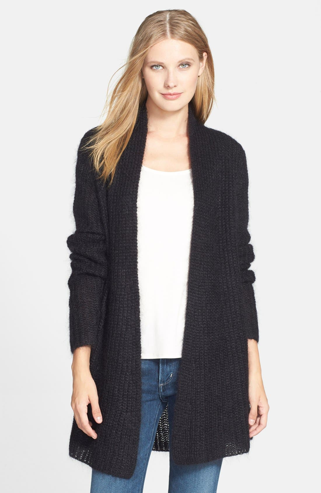 Main Image - Eileen Fisher The Fisher Project Straight Long Cardigan