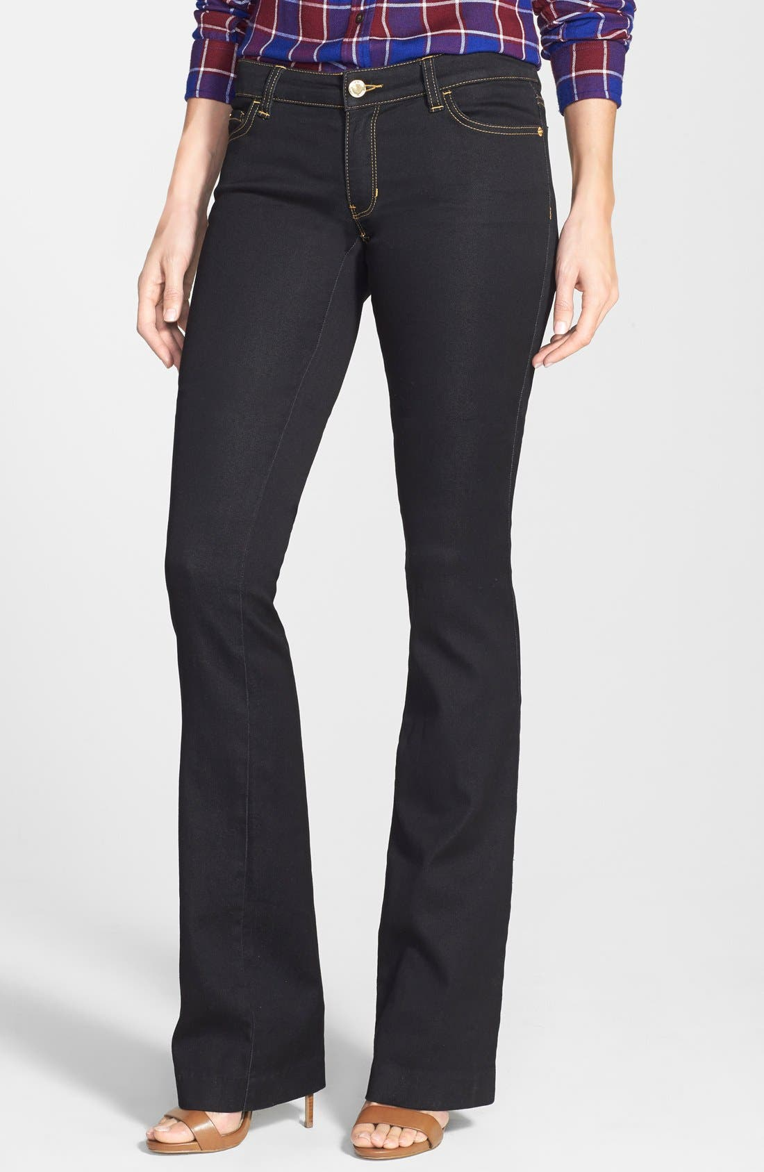 Main Image - MICHAEL Michael Kors Stretch Straight Leg Jeans