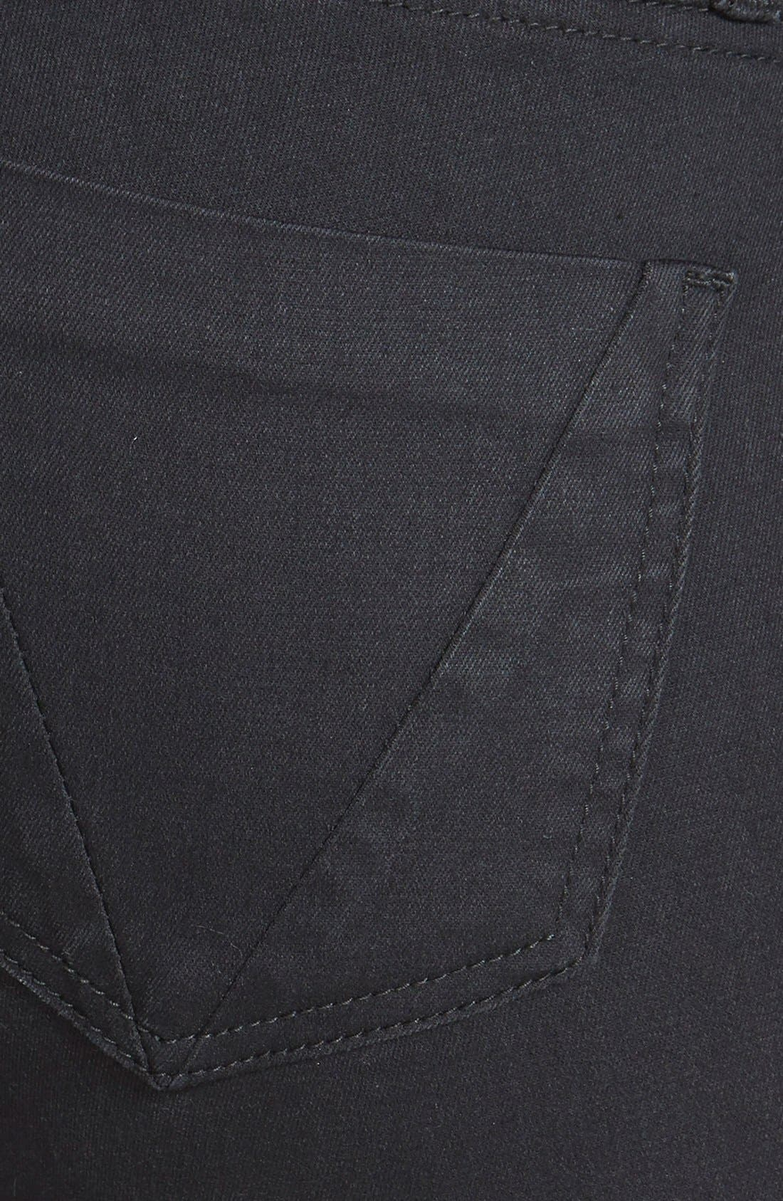 Alternate Image 3  - STS Blue Stretch Skinny Jeans (Black)