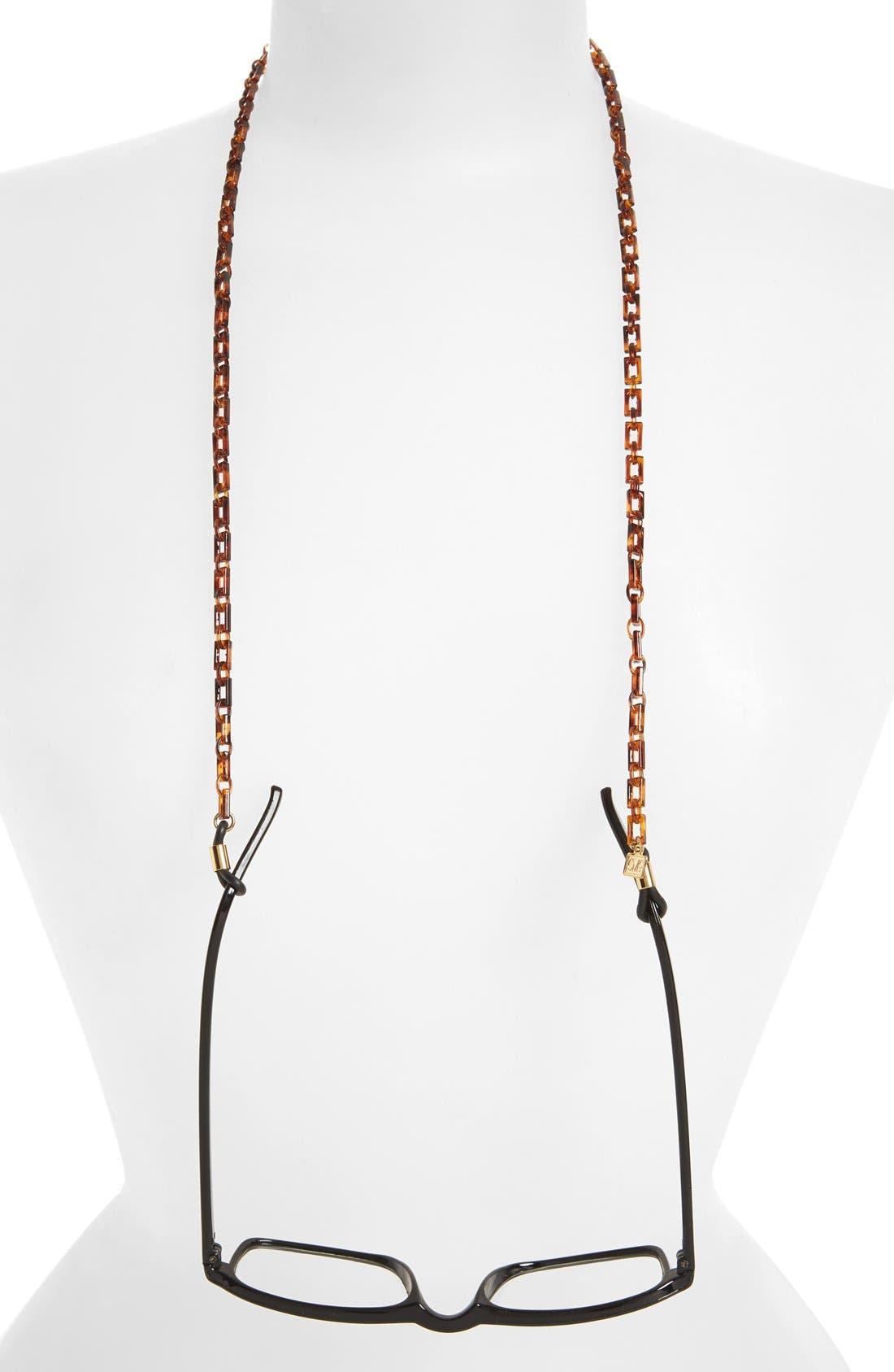 Eyewear Chain,                         Main,                         color, Tortoise Gold