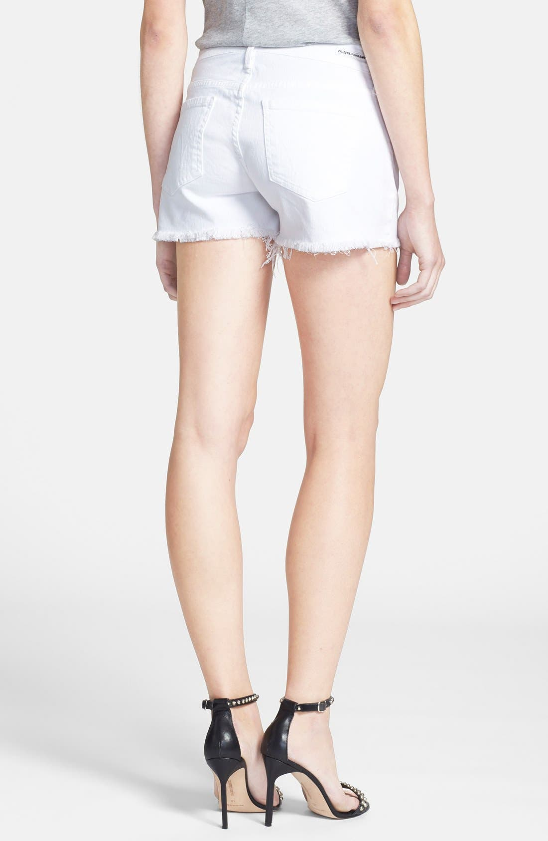 'Ava' Shorts,                             Alternate thumbnail 2, color,                             Santorini