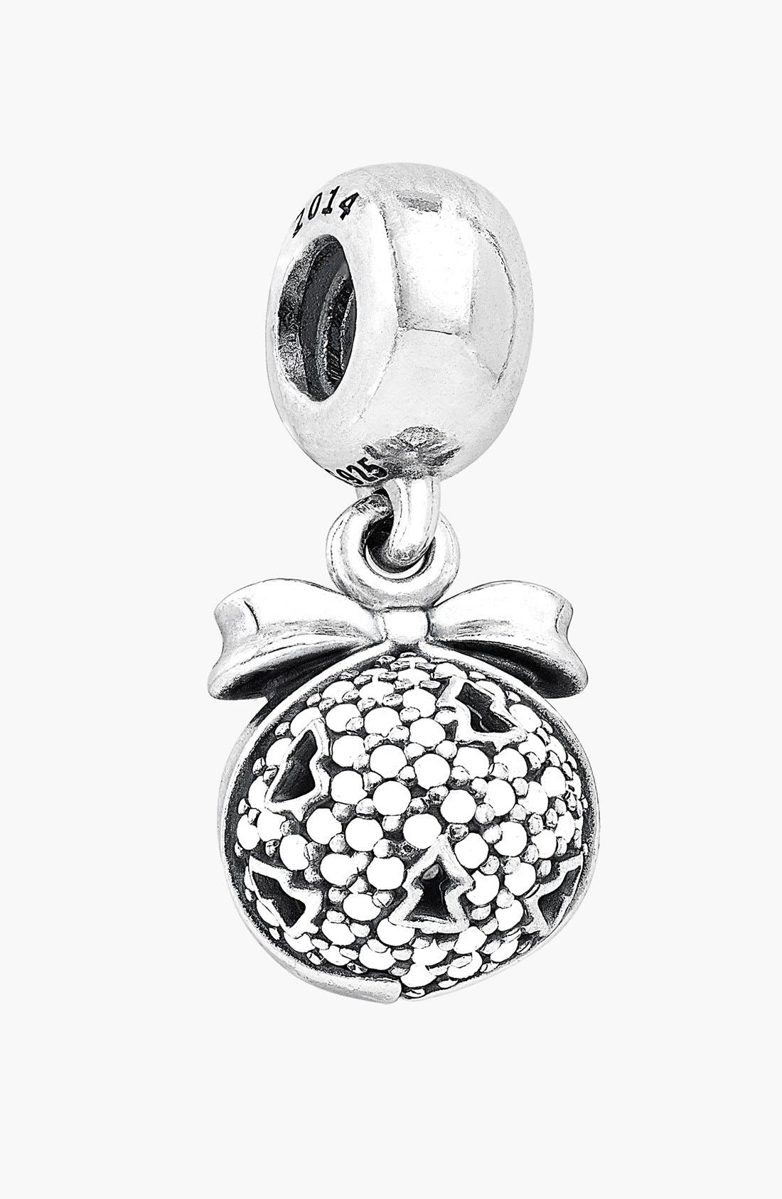 Alternate Image 1 Selected - PANDORA Pavé Dangle Charm