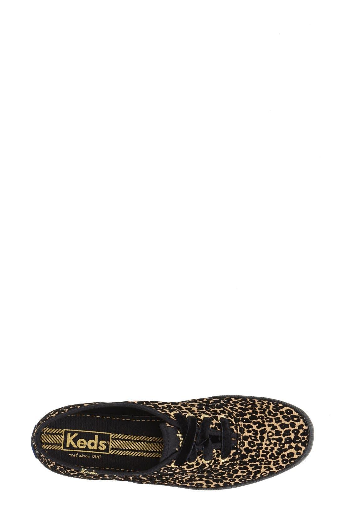 Alternate Image 3  - Keds® 'Champion - Leopard Spot' Sneaker (Women)