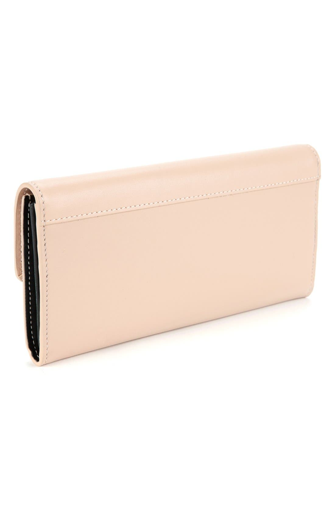 Alternate Image 4  - Ted Baker London Leather Bow Wallet