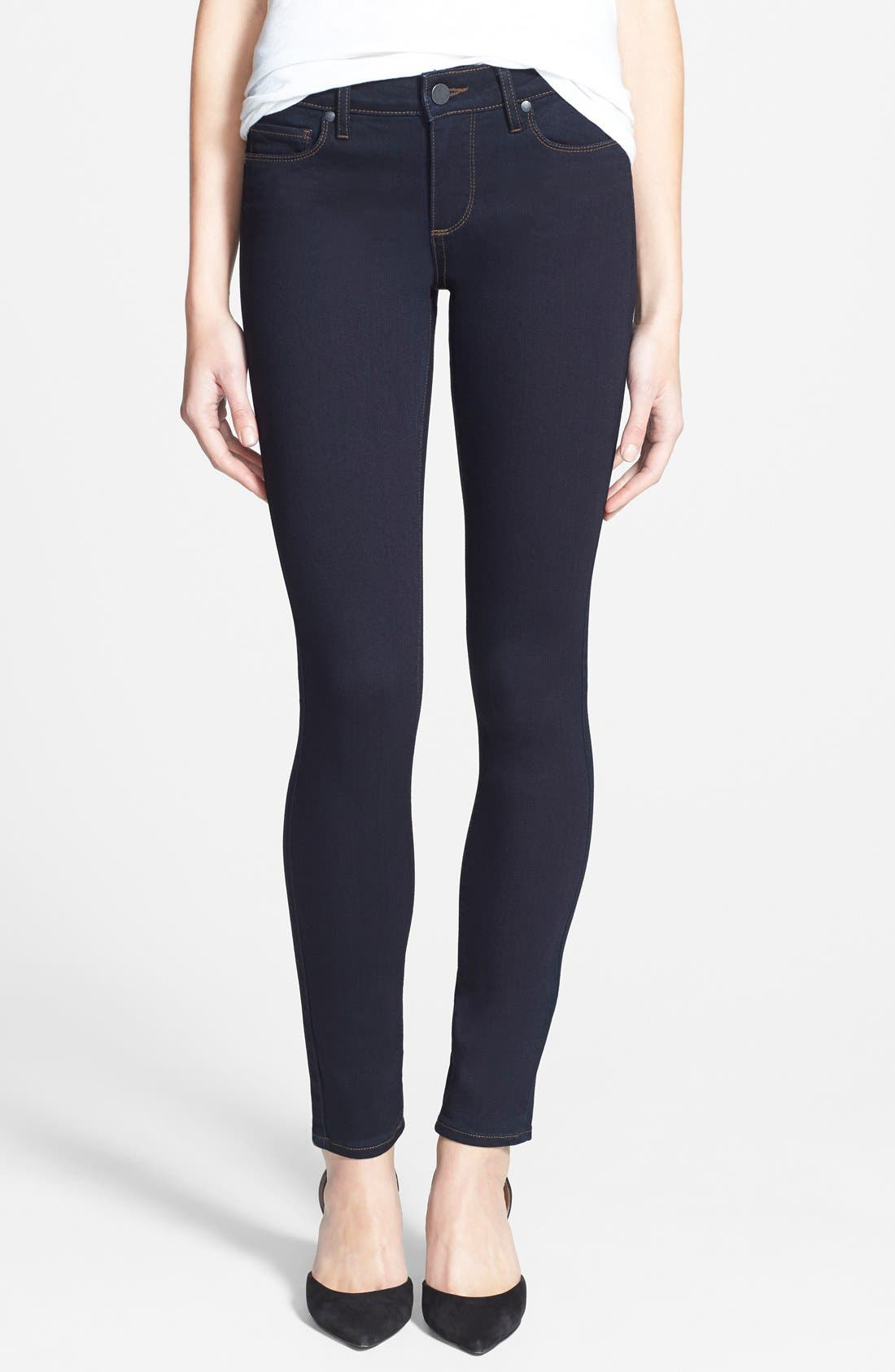 Main Image - Paige Denim 'Transcend - Verdugo' Ultra Skinny Jeans (Rockwell No Whiskers)