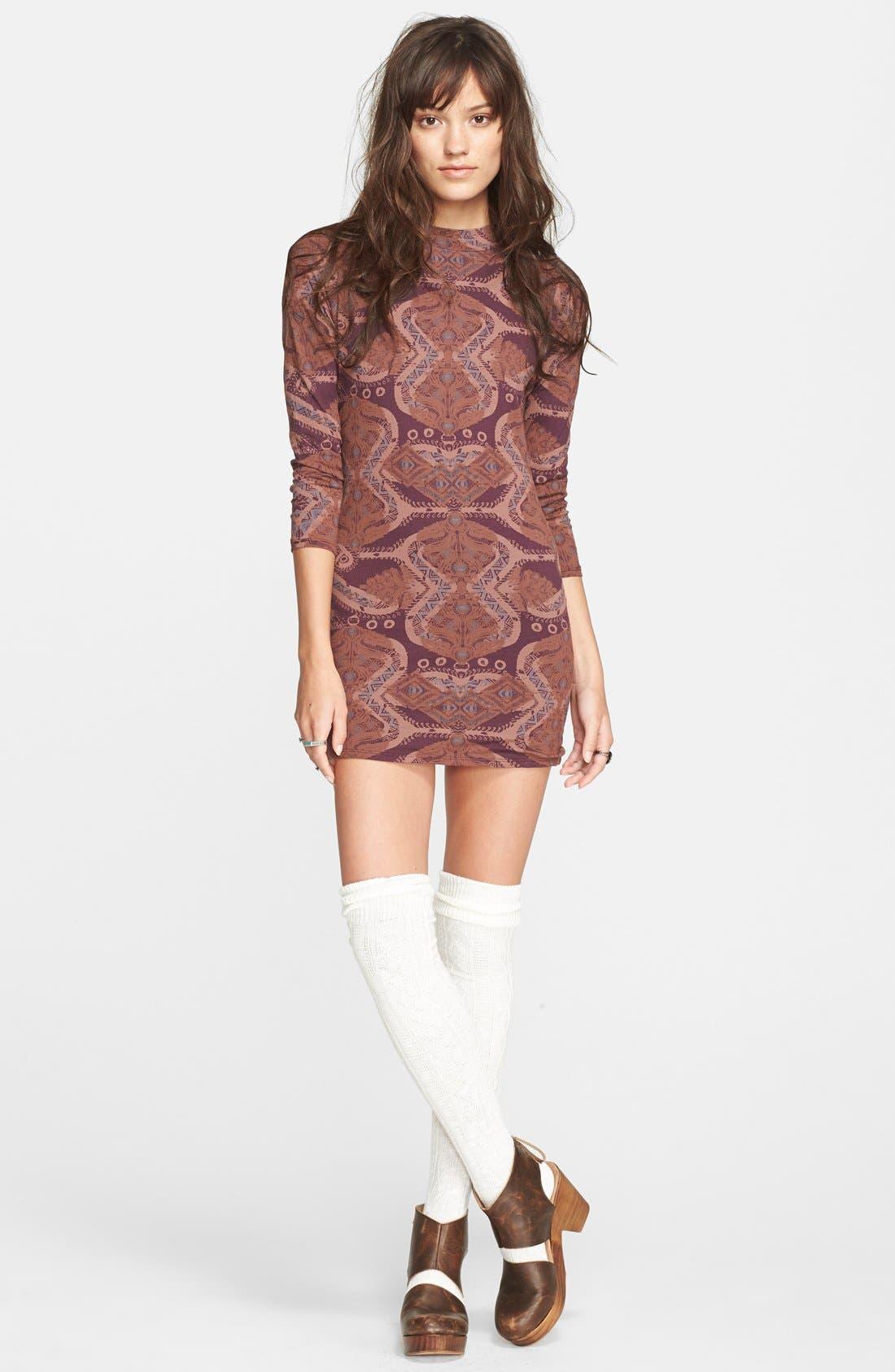 Main Image - Free People 'Cute & Cozy' Body-Con Dress