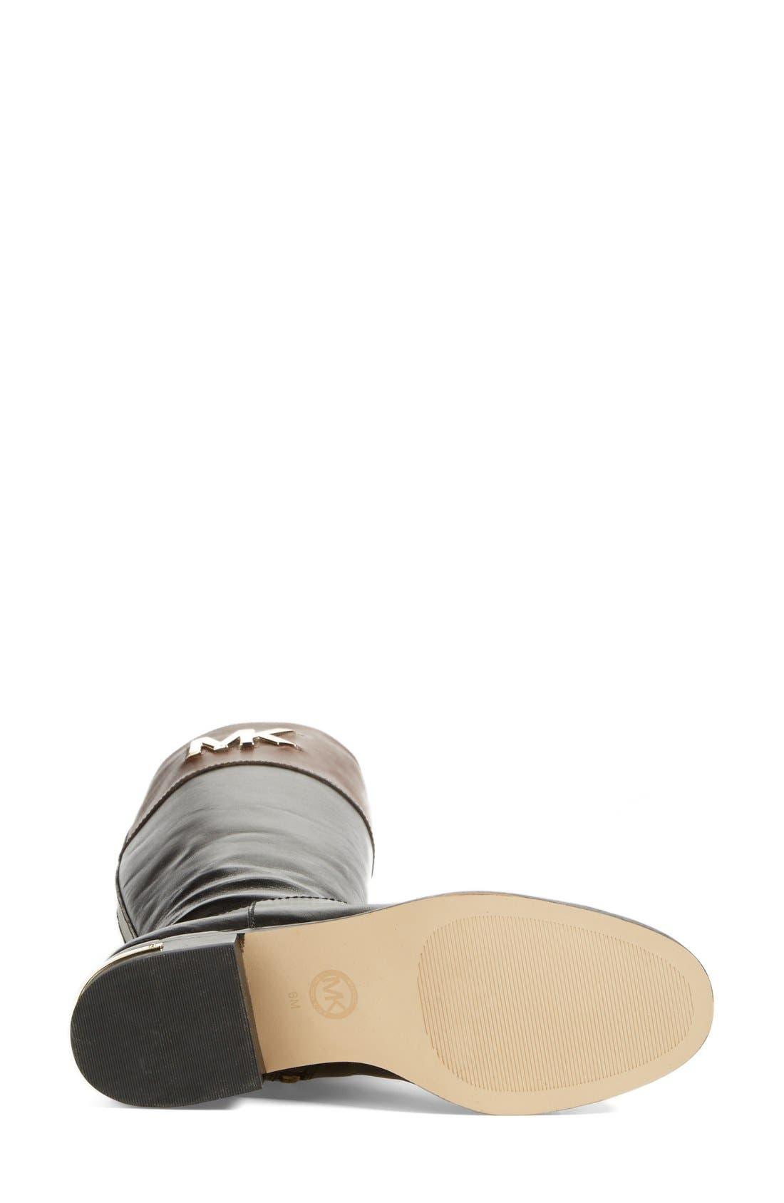 Alternate Image 4  - MICHAEL Michael Kors 'Hayley' Leather Boot (Women)