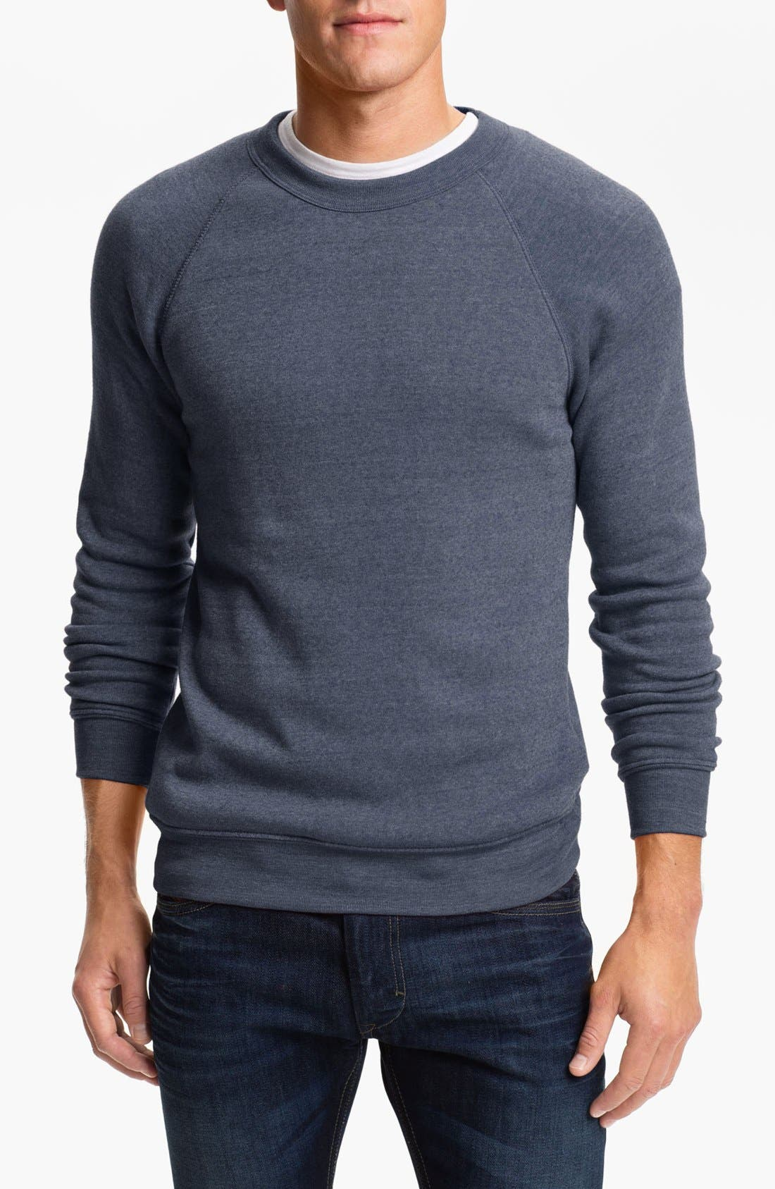 'The Champ' Sweatshirt,                         Main,                         color, Eco True Navy