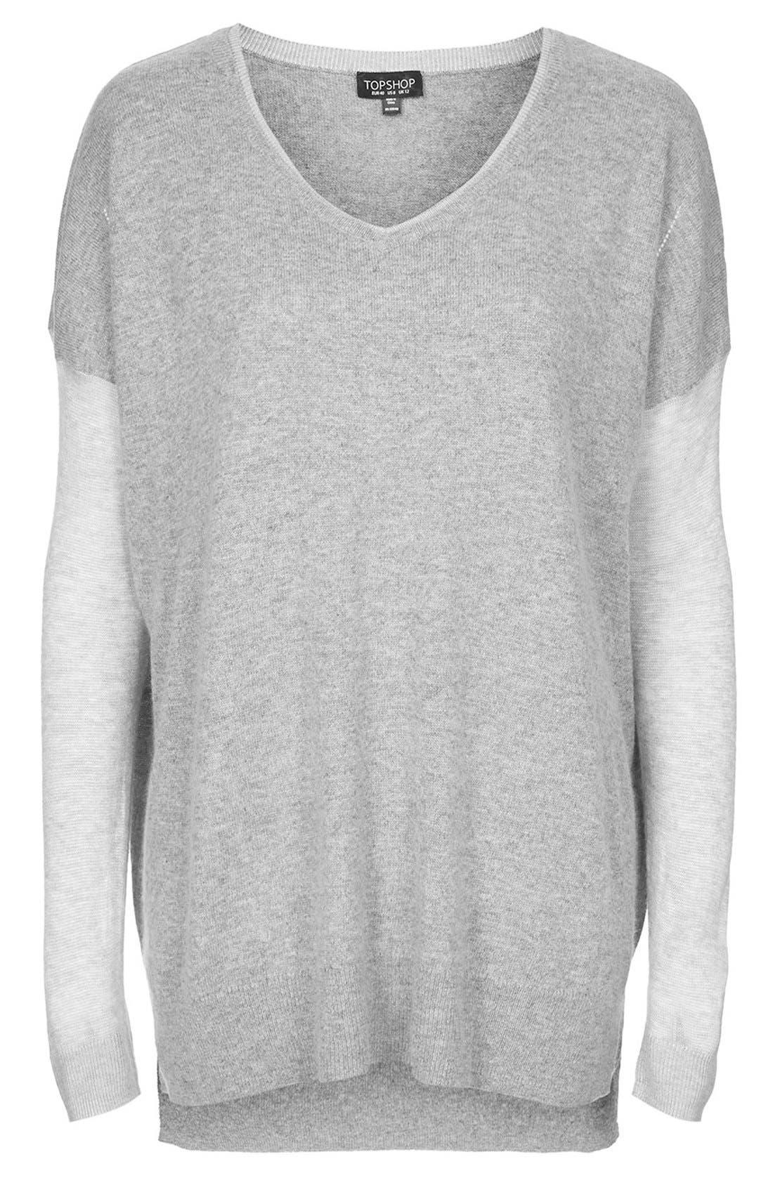 Alternate Image 5  - Topshop V-Neck Sweater