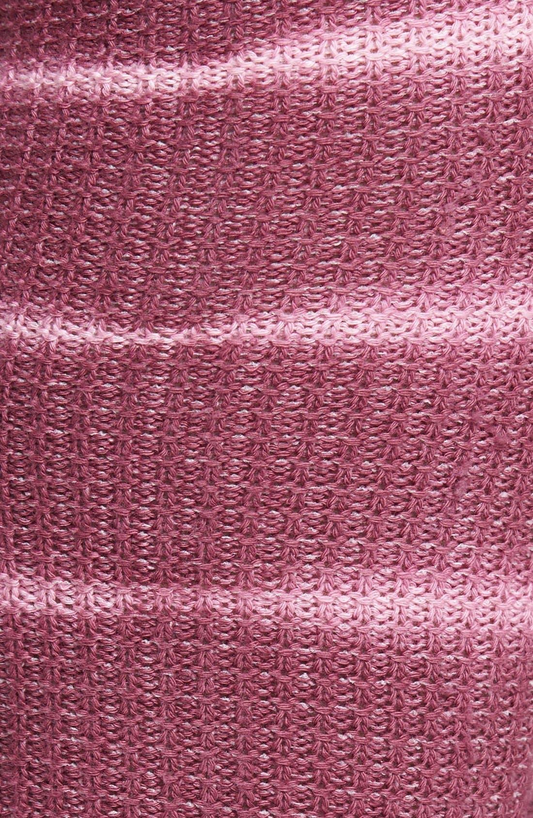 Alternate Image 2  - Stance 'Icicle' Tie Dye Stripe Over the Knee Socks