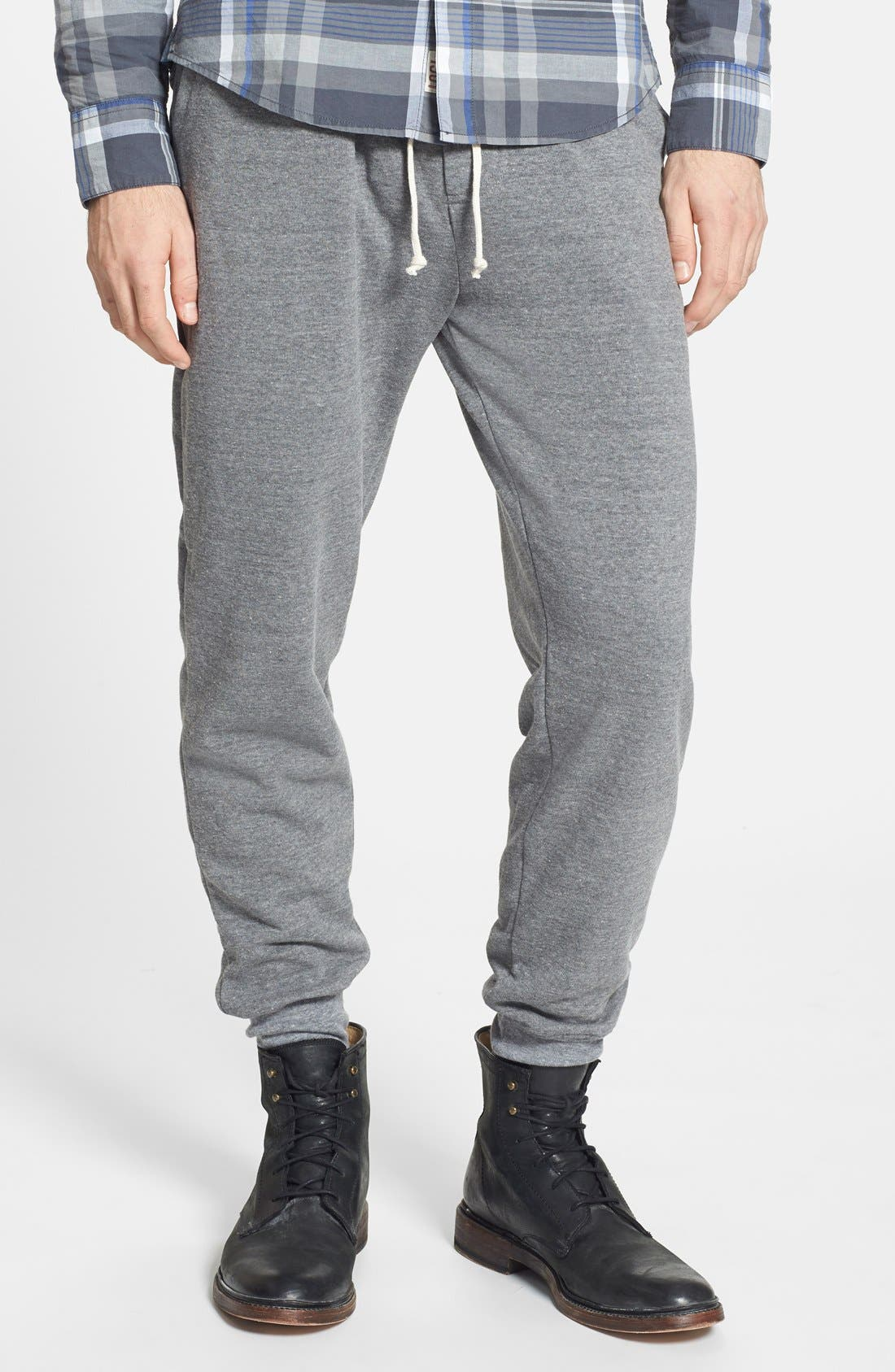 'Dodgeball' Eco Fleece Sweatpants,                             Main thumbnail 1, color,                             Grey