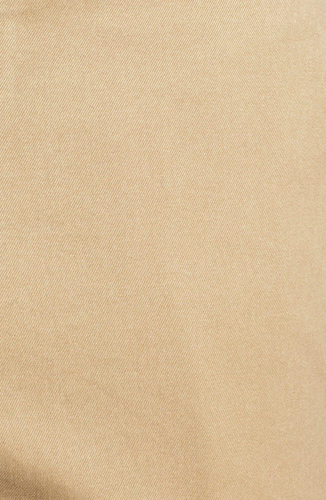 Garment Washed Twill Pants,                             Alternate thumbnail 3, color,                             British Tan