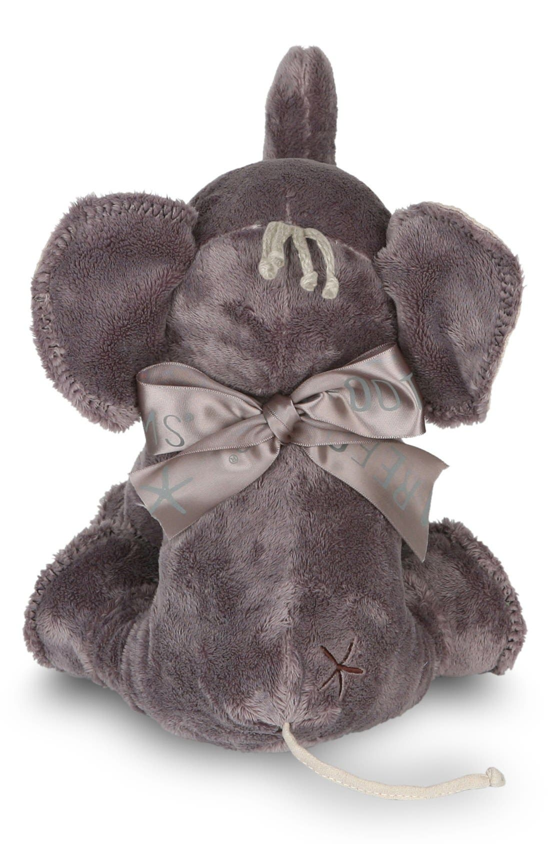 'Buddy the Elephant' Stuffed Animal,                             Alternate thumbnail 3, color,                             Warm Gray