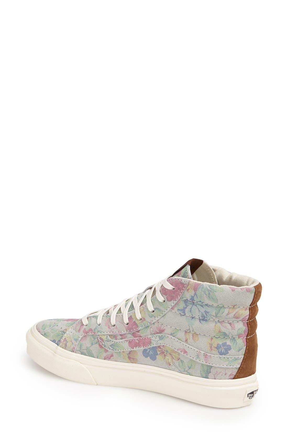 Alternate Image 2  - Vans 'Sk8-Hi Slim' Sneaker (Women)