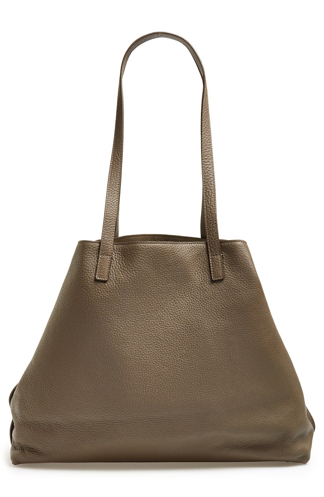 Alternate Image 4  - Akris 'AI Medium Messenger' Leather Tote