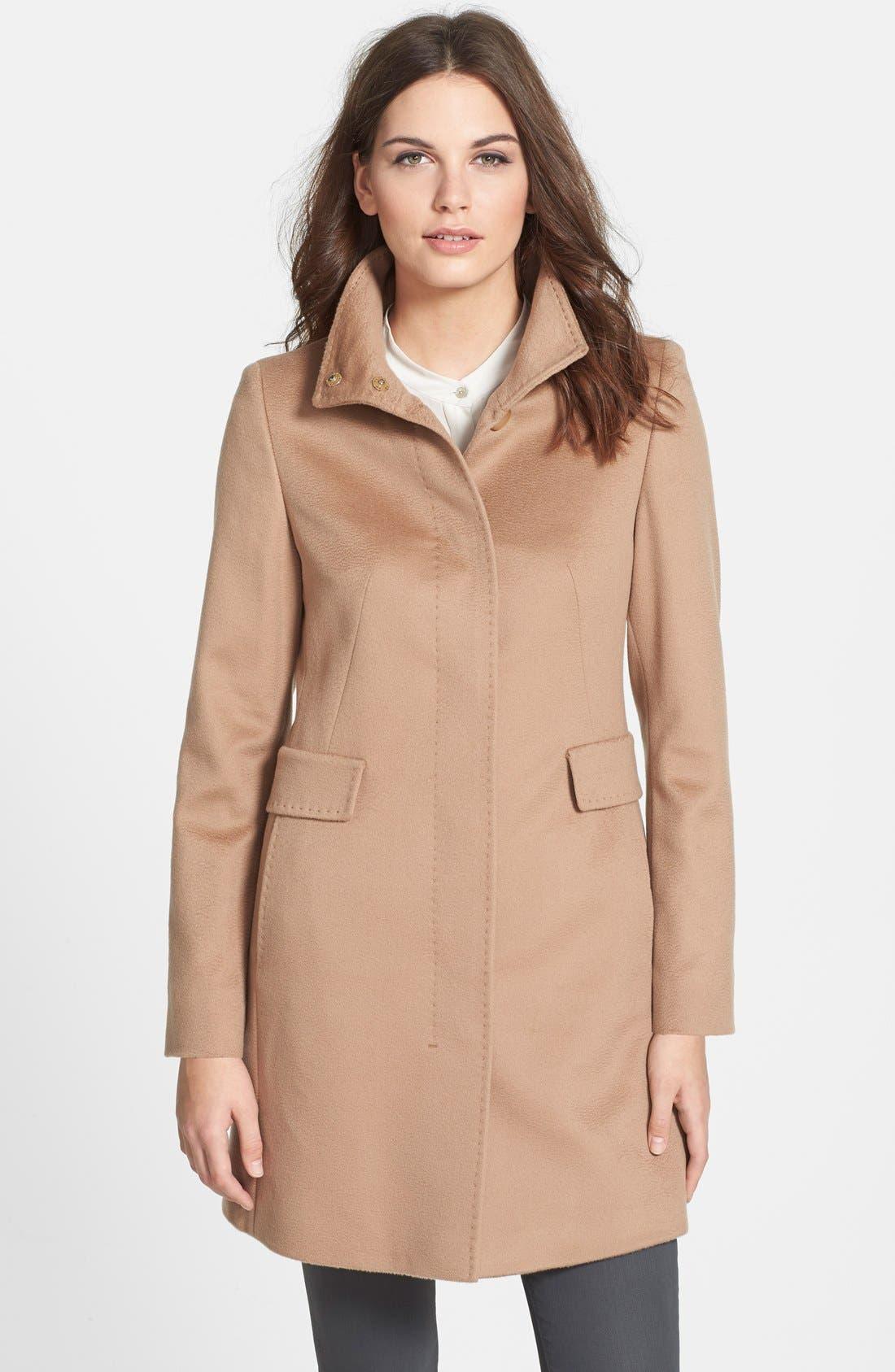 Alternate Image 1 Selected - Max Mara Studio 'Agnese' Wool Coat