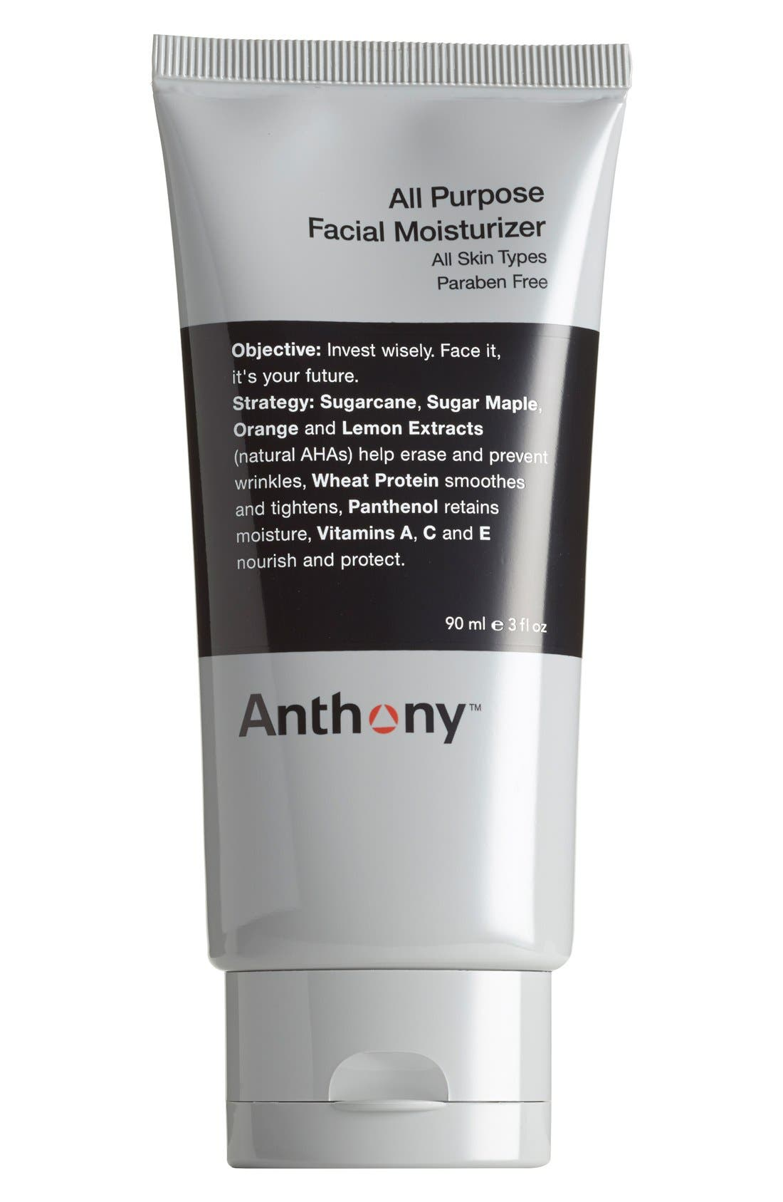 Anthony™ All-Purpose Facial Moisturizer