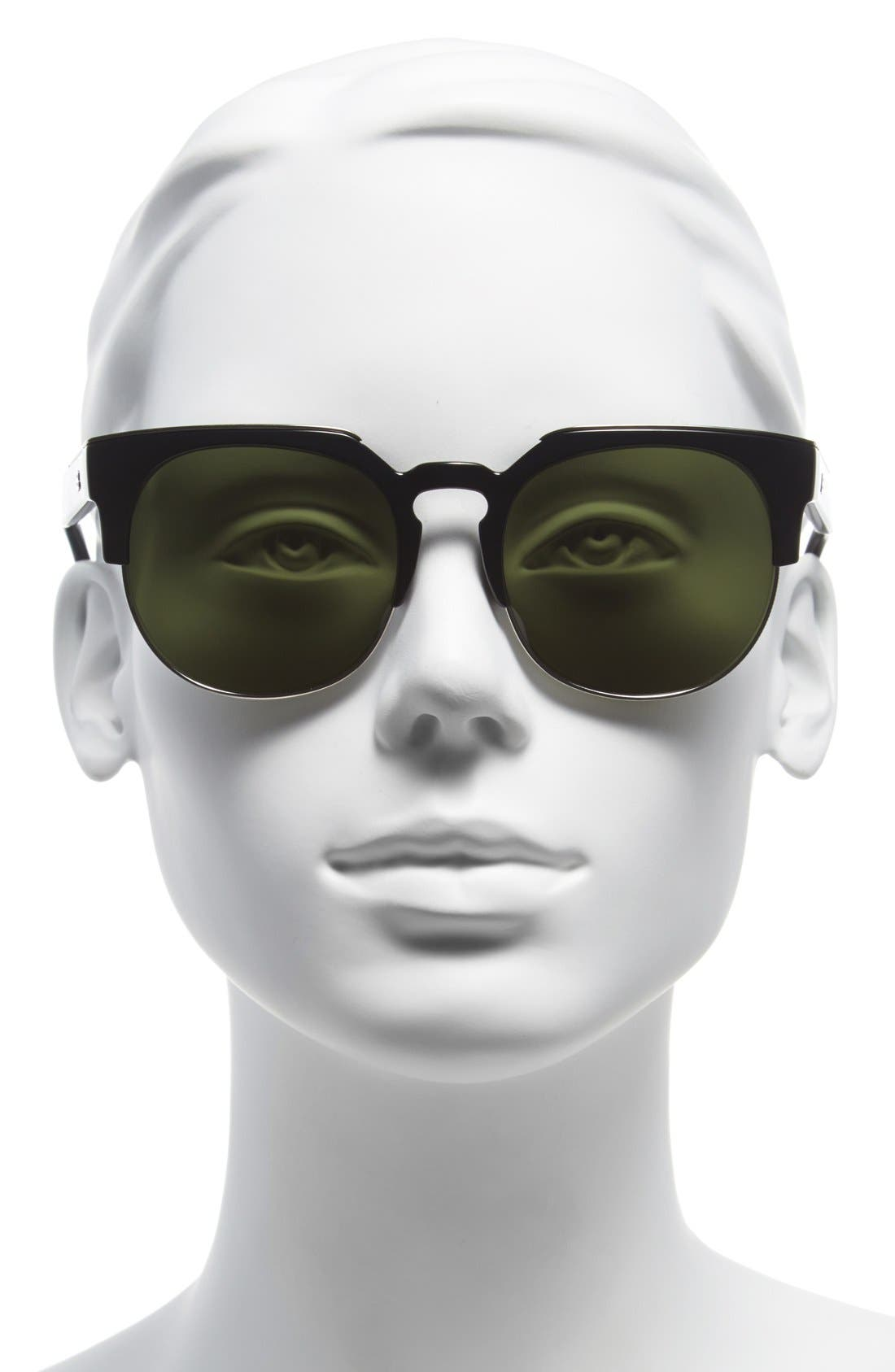 Alternate Image 2  - Balenciaga Paris 54mm Sunglasses