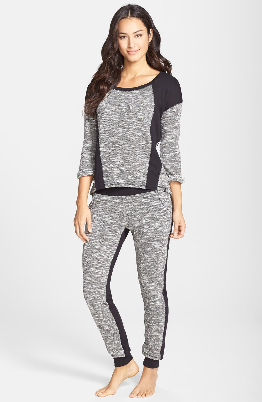 Alternate Image 3  - Marc New York by Andrew Marc Colorblock Terry Sweatpants