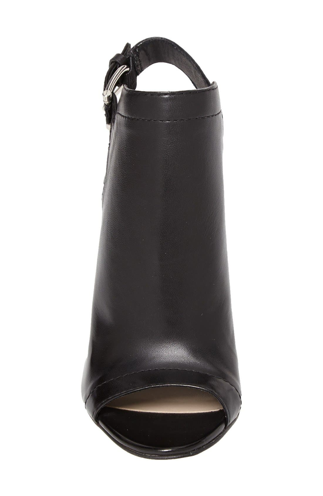 Alternate Image 3  - Vince Camuto 'Vamelia' Open Toe Leather Bootie (Women)