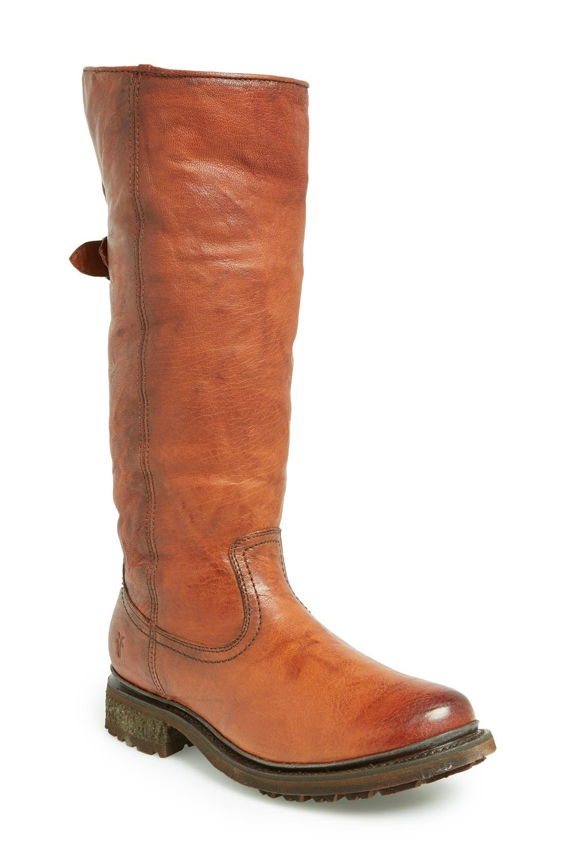 Alternate Image 1 Selected - Frye 'Valerie' Pull On Shearling Boot (Women)
