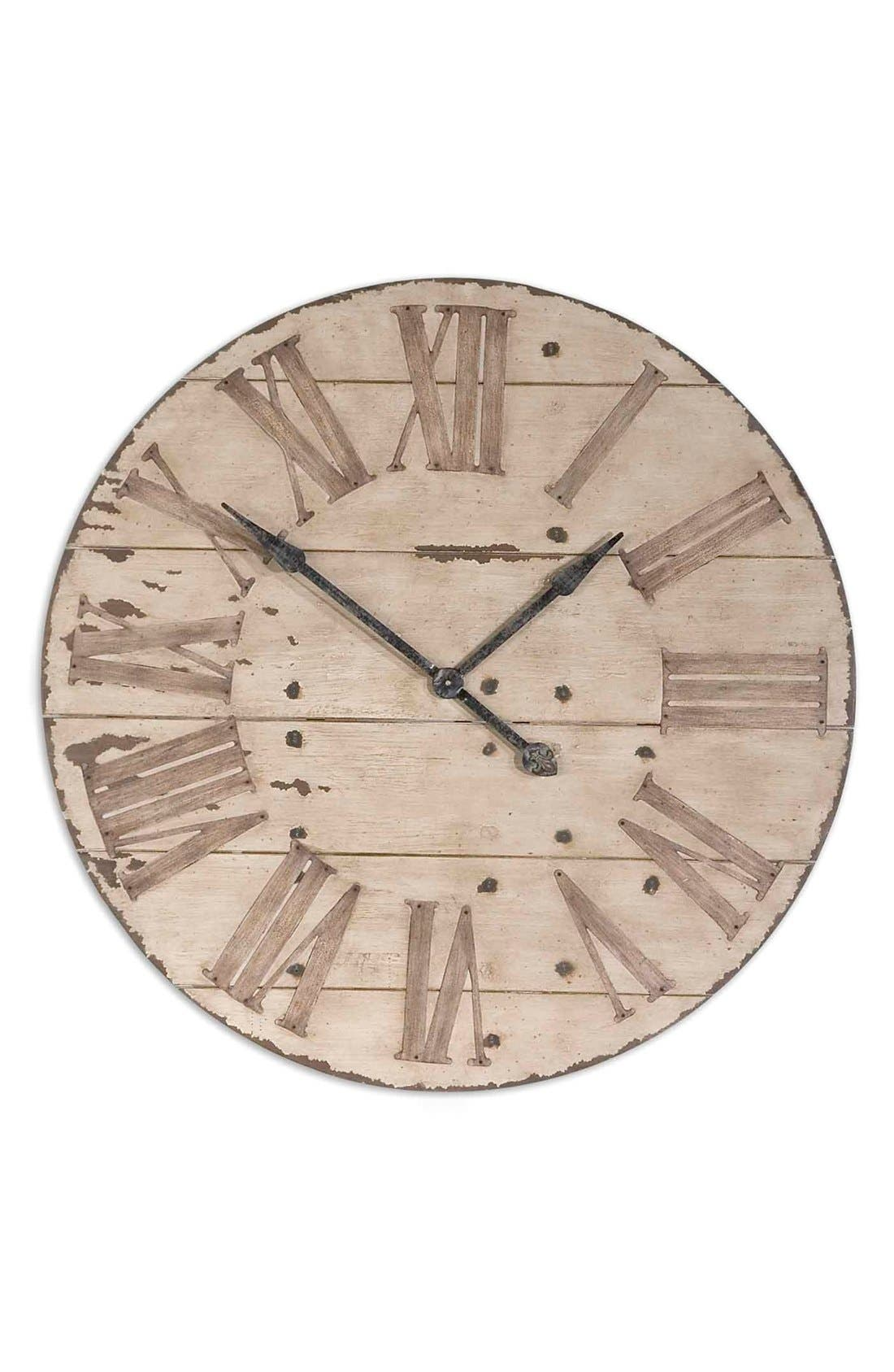 'Harrington' Wall Clock,                         Main,                         color, Brown