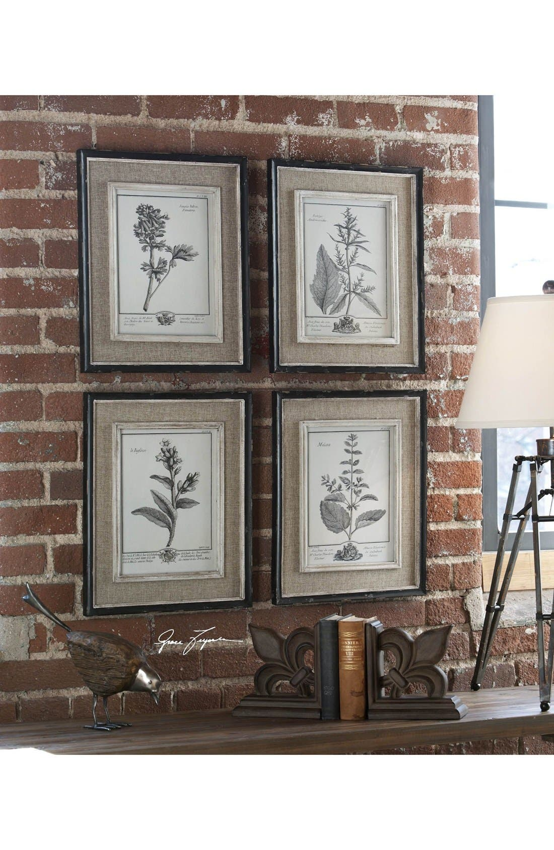 Alternate Image 3  - Uttermost 'Casual Grey Study' Wall Art (Set of 4)