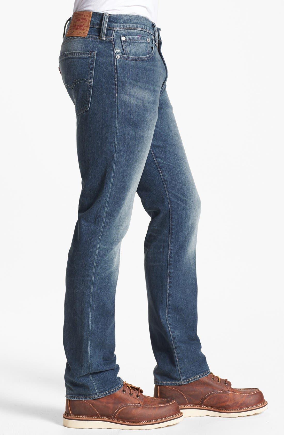 Alternate Image 3  - Levi's® '513™' Slim Fit Jeans (Blue Canyon)