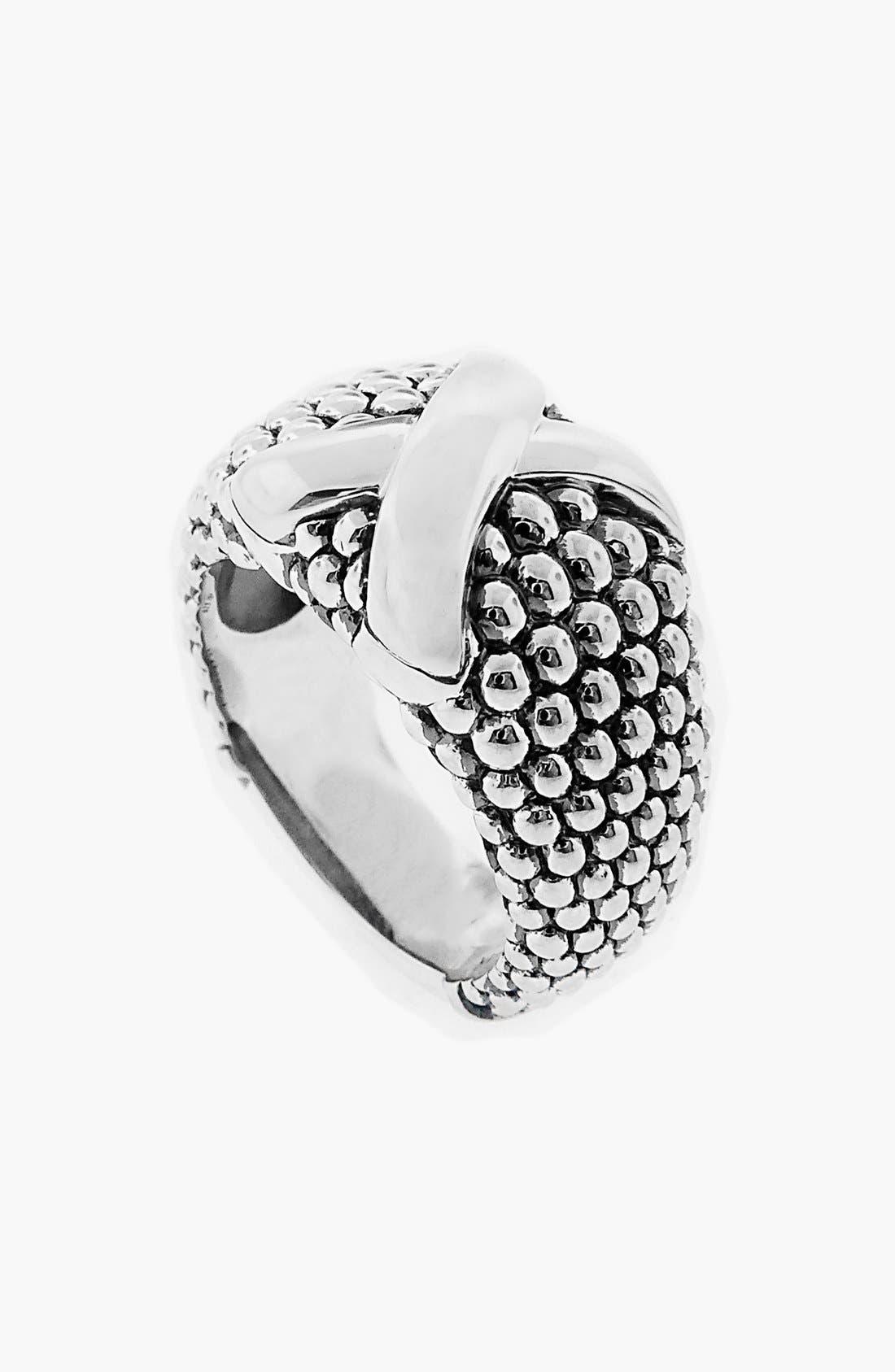 Alternate Image 1 Selected - LAGOS 'X' Caviar Wide Ring