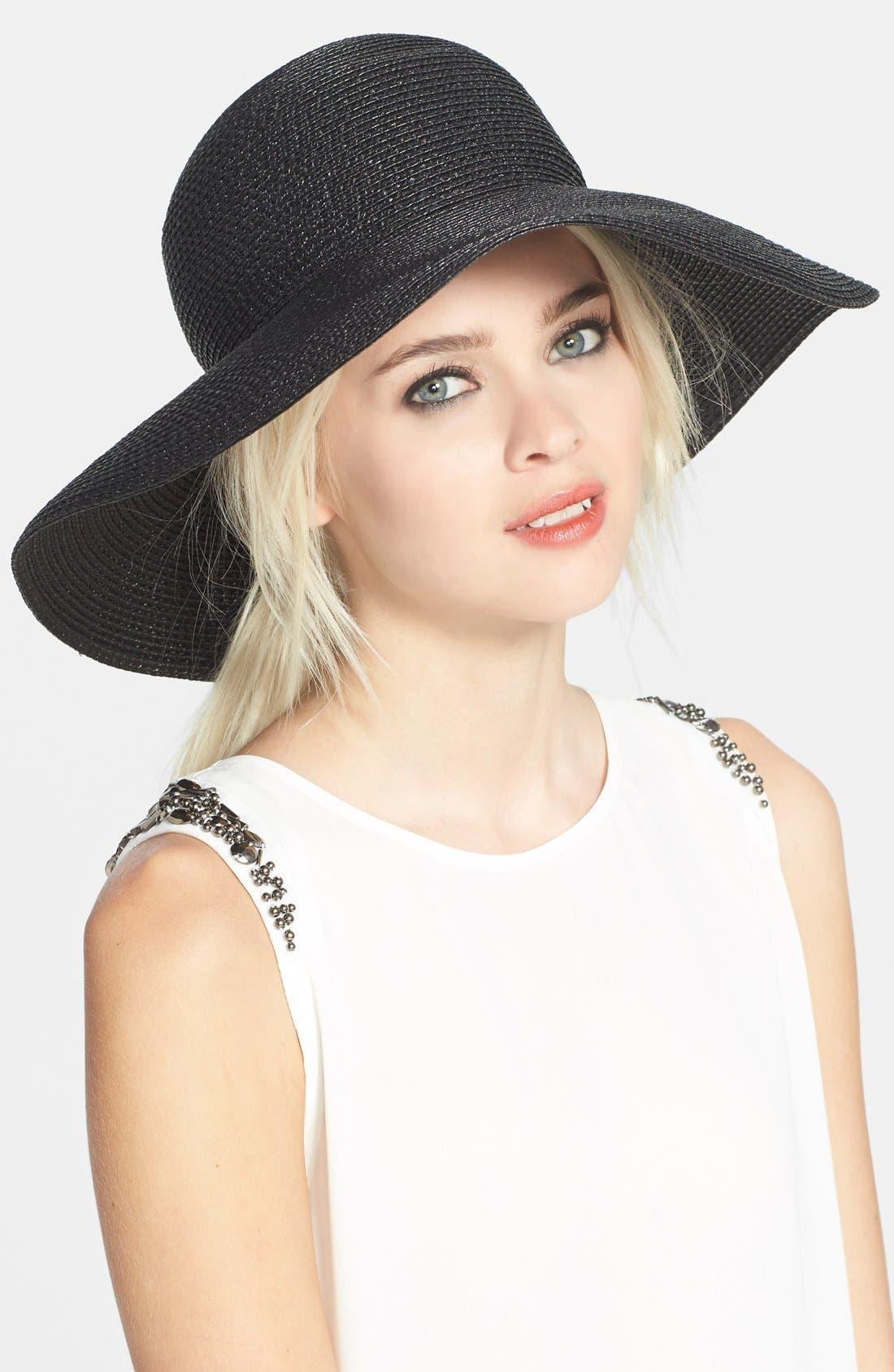 Main Image - Eric Javits 'Hampton' Straw Sun Hat