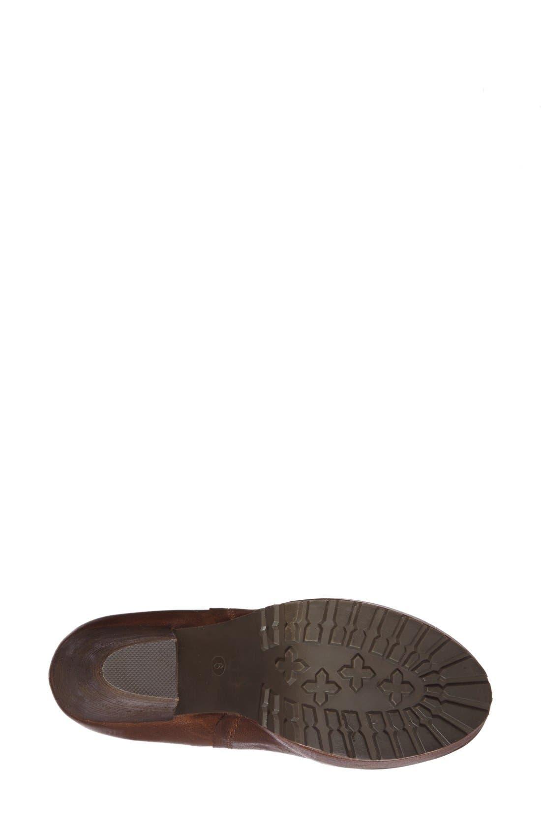 Alternate Image 4  - Steve Madden 'Randaal' Leather Platform Bootie (Women)