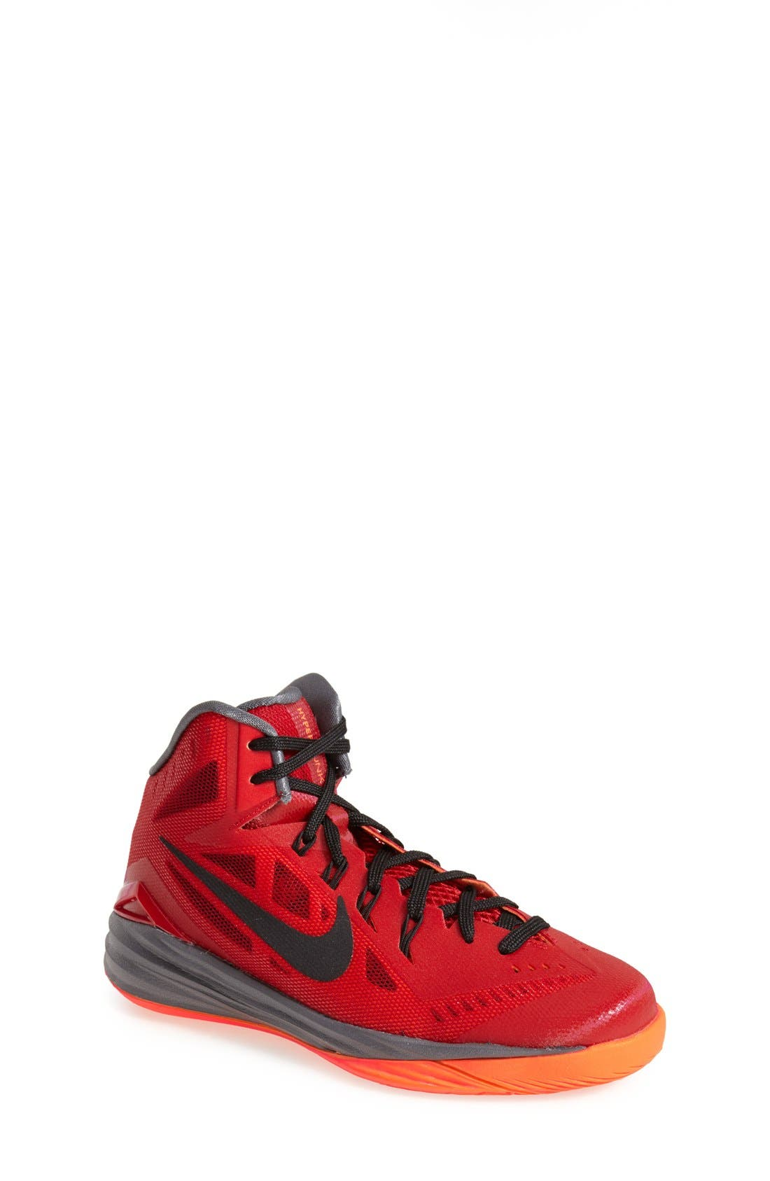 Alternate Image 1 Selected - Nike 'Hyperdunk 2014' Basketball Shoe (Big Kids)