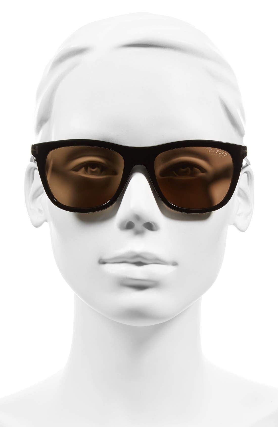 Alternate Image 2  - Tom Ford Andrew 54mm Sunglasses