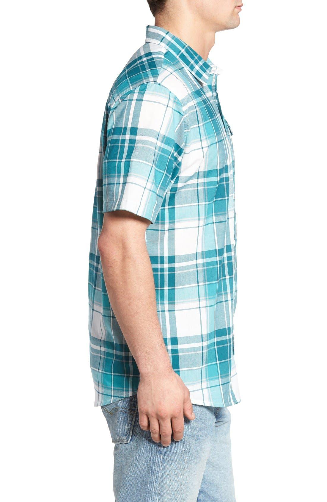 Alternate Image 3  - O'Neill Plaid Woven Shirt