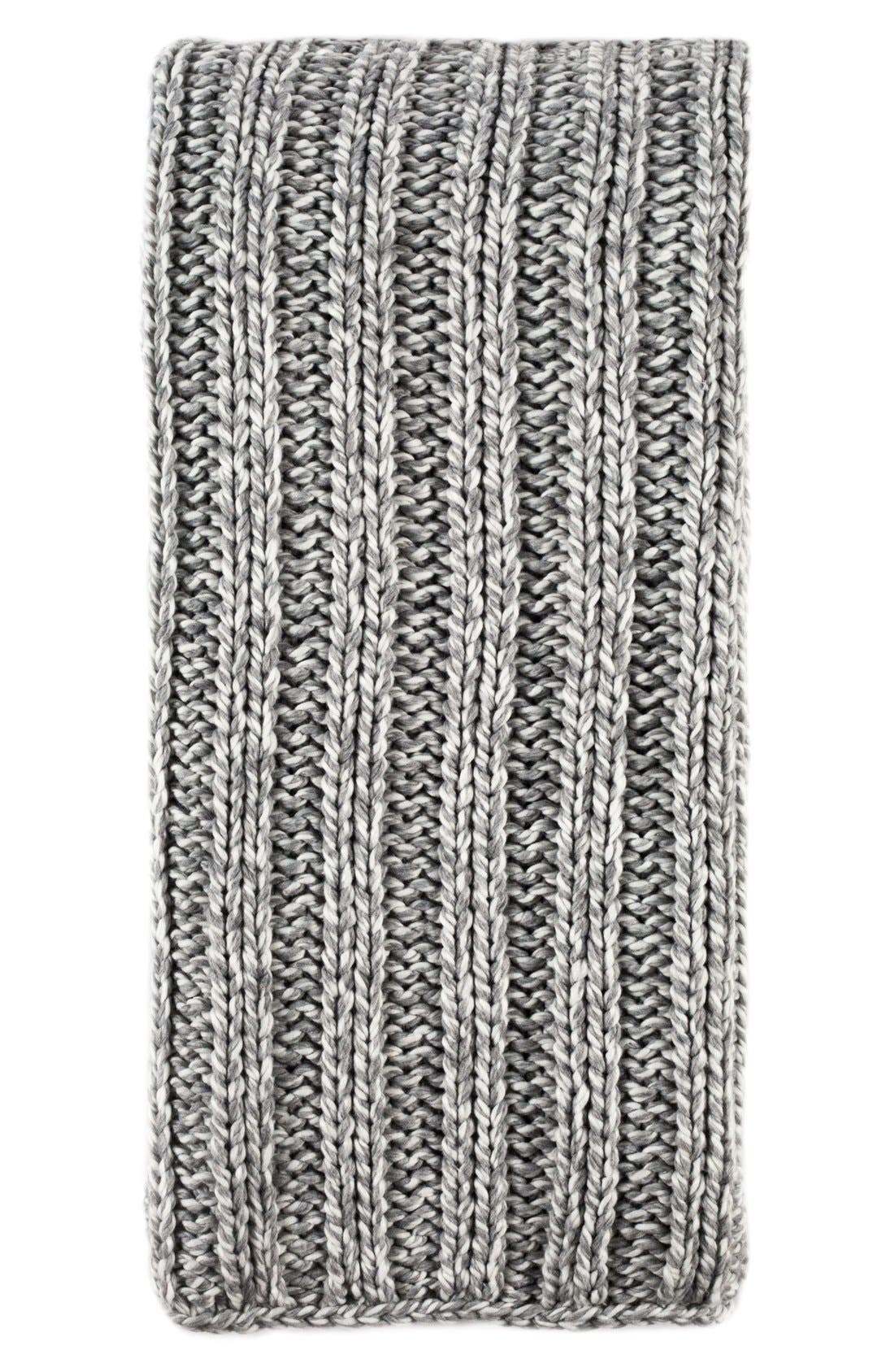 Sven Oversize Throw Blanket,                             Main thumbnail 1, color,                             Grey