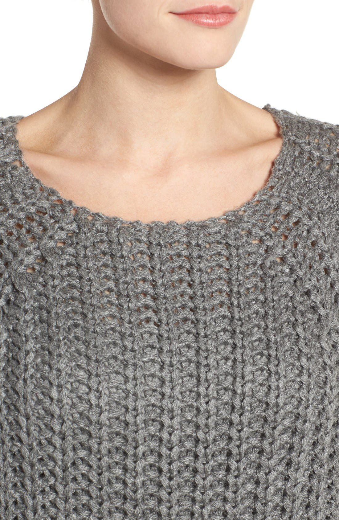 Page Sweater,                             Alternate thumbnail 4, color,                             Grey