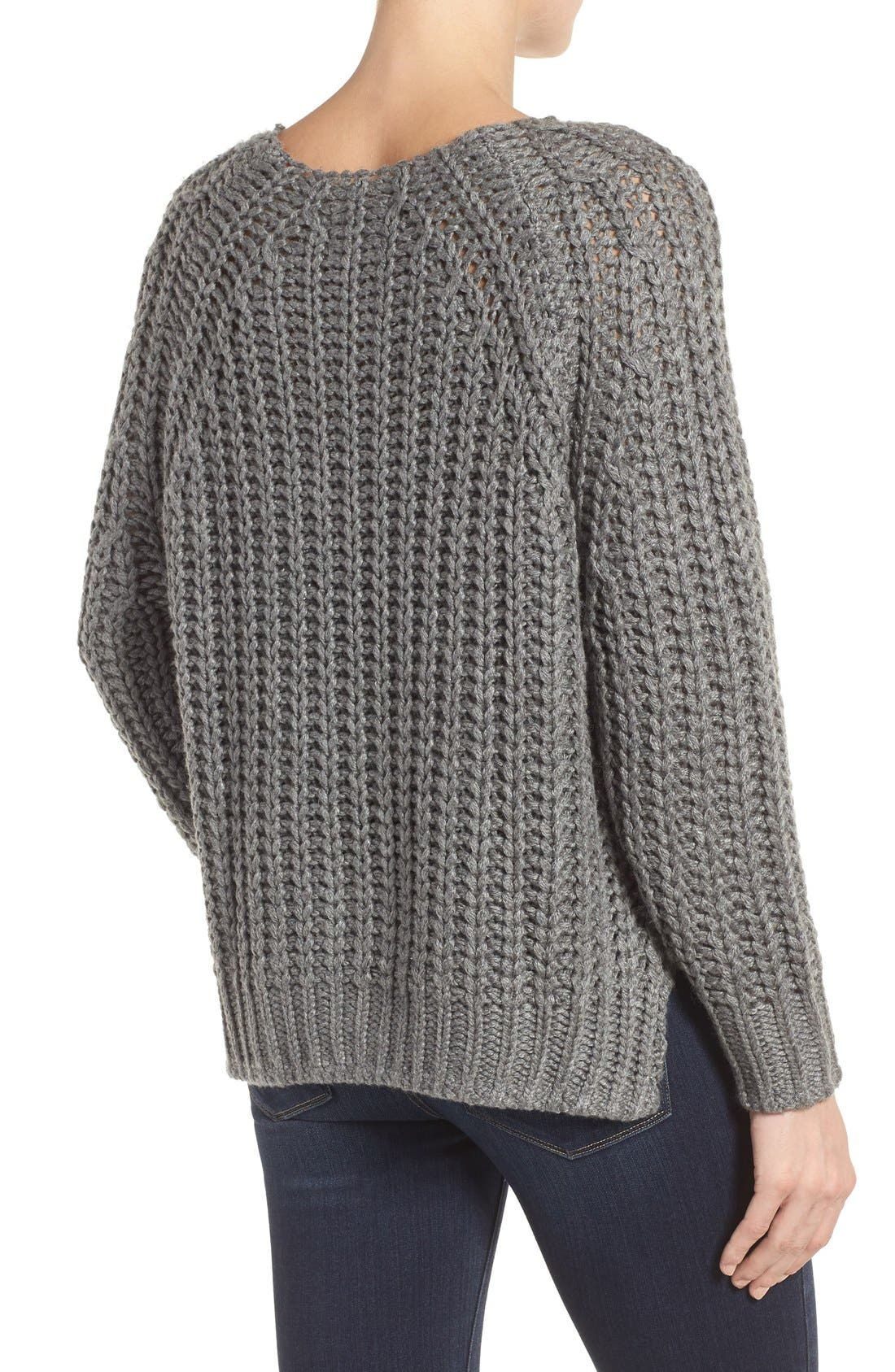 Page Sweater,                             Alternate thumbnail 2, color,                             Grey