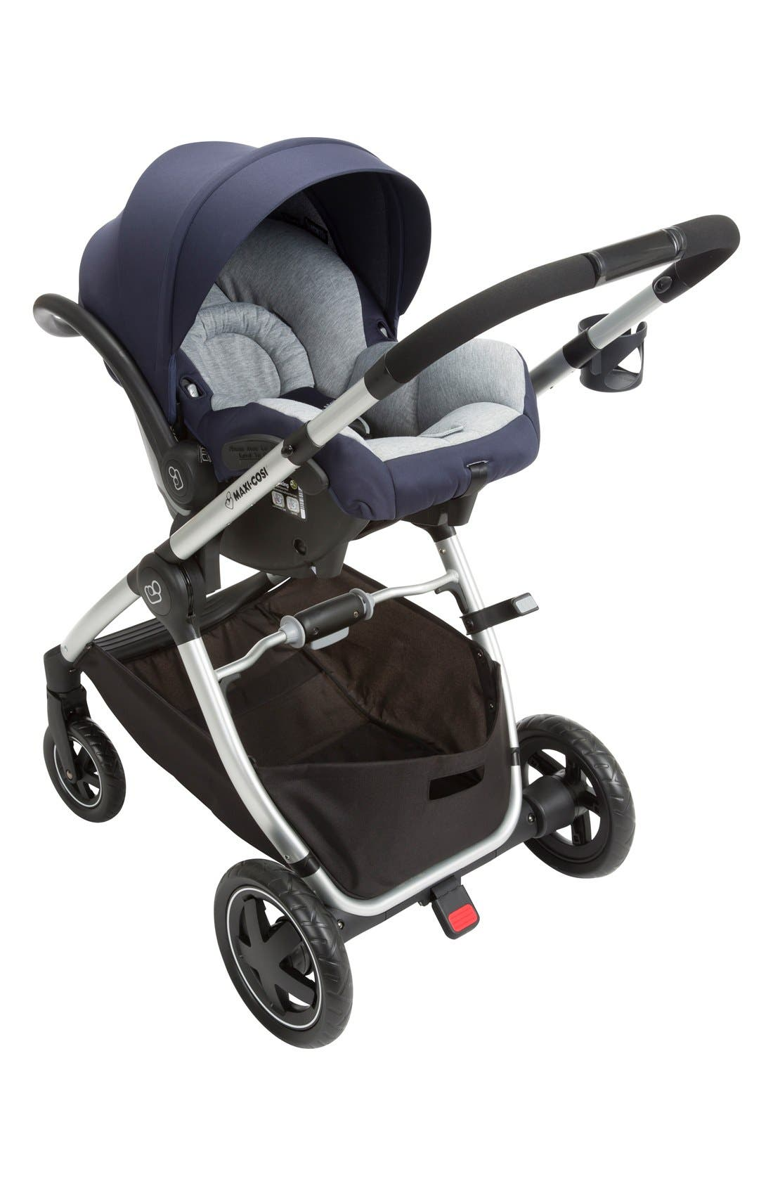 Adorra Travel System,                             Alternate thumbnail 6, color,                             Navy
