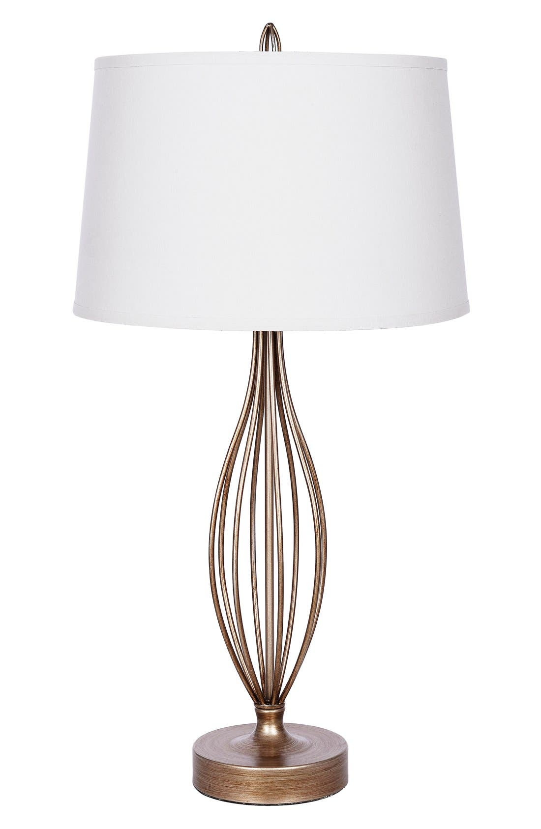 Alternate Image 1 Selected - JAlexander Tessa Metal Table Lamp
